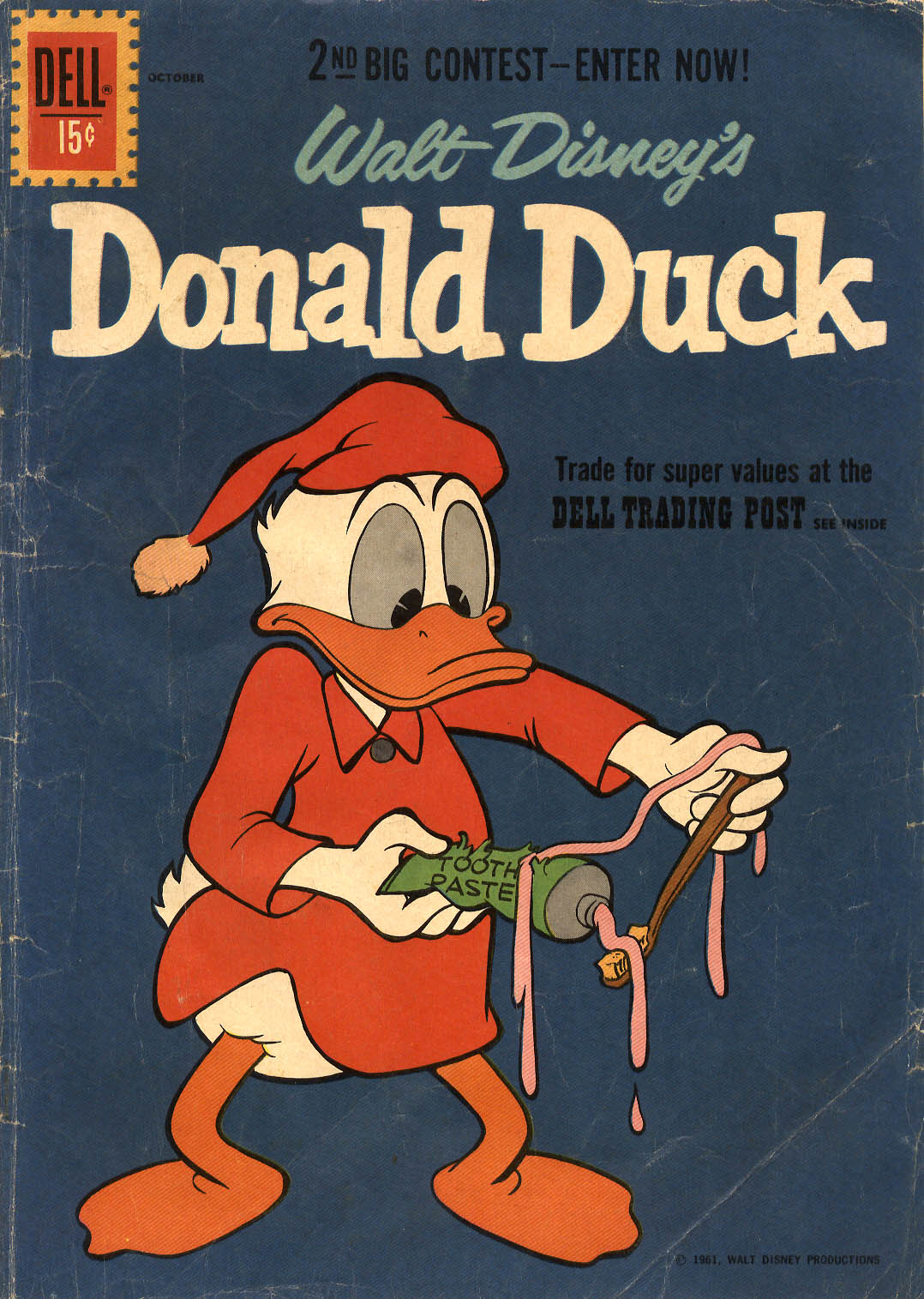 Walt Disney's Donald Duck (1952) issue 79 - Page 1