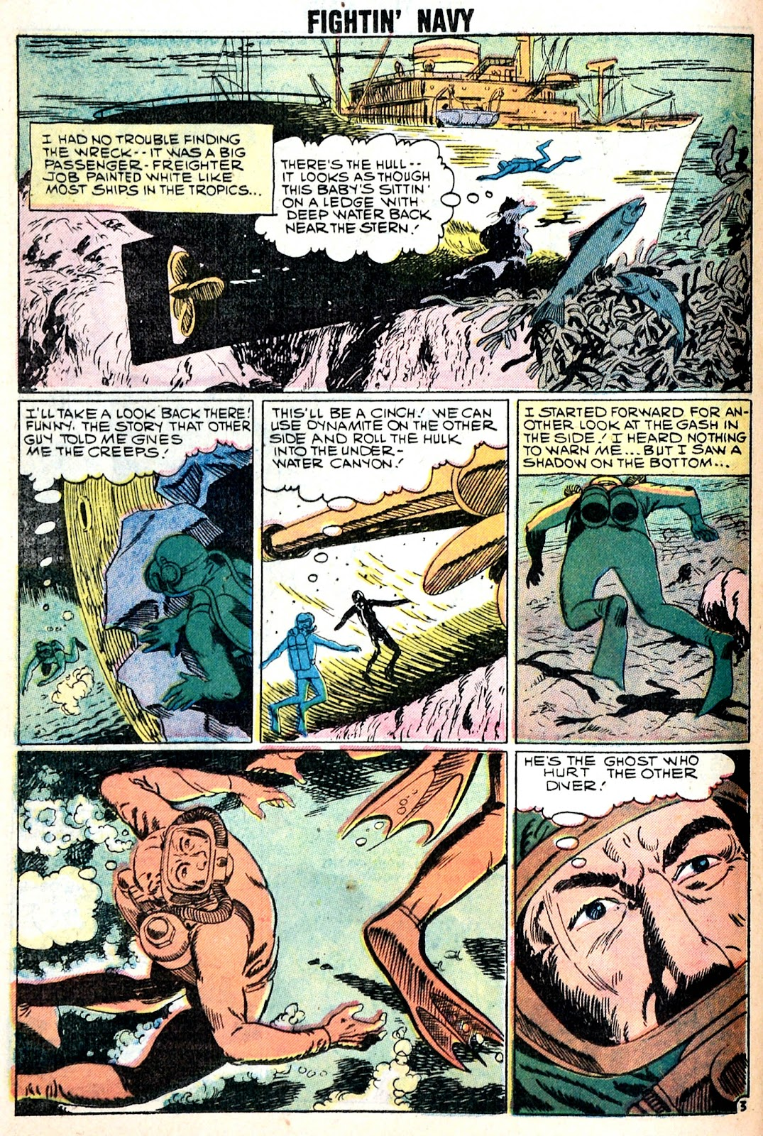 Read online Fightin' Navy comic -  Issue #85 - 24