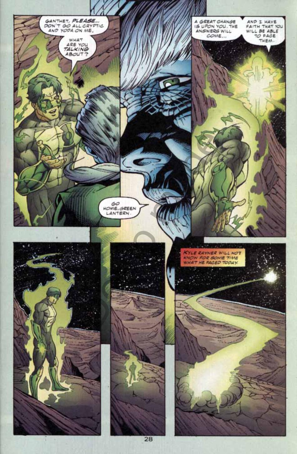 Read online Green Lantern: Our Worlds At War comic -  Issue # Full - 27