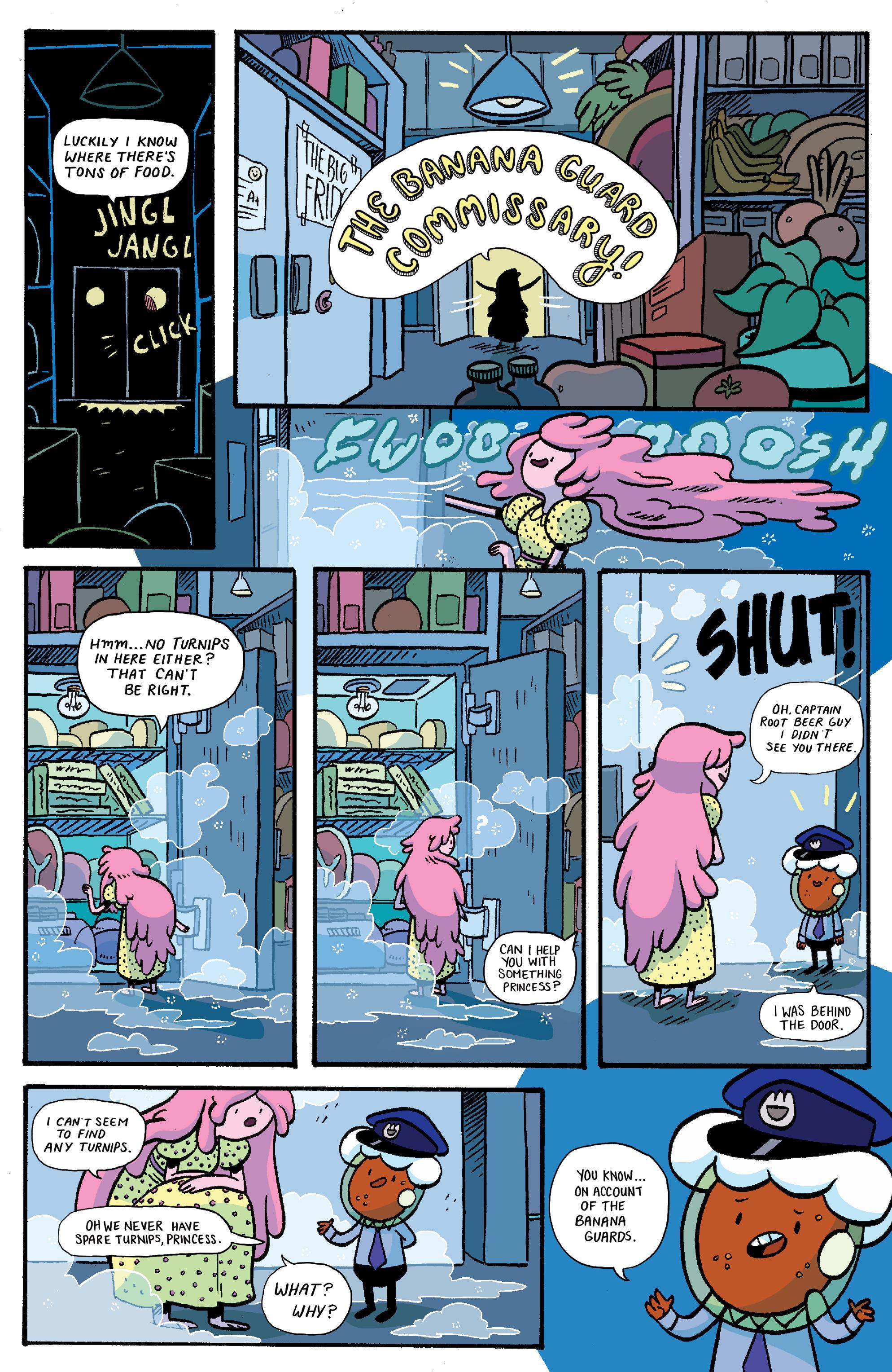 Read online Adventure Time: Banana Guard Academ comic -  Issue #1 - 4