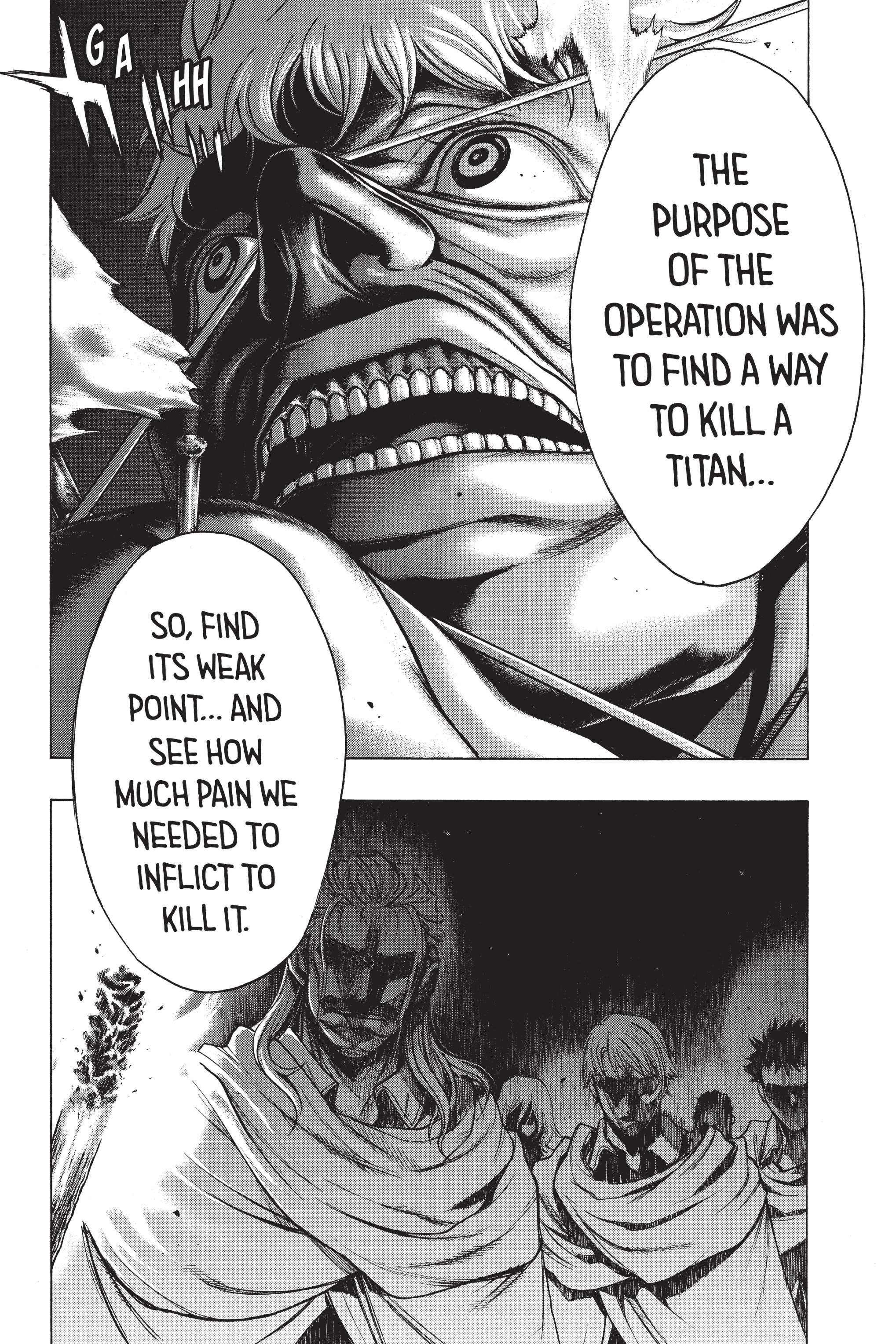 Read online Attack on Titan: Before the Fall comic -  Issue #5 - 149