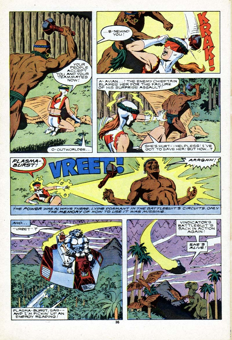 Read online Alpha Flight (1983) comic -  Issue # _Annual 2 - 36