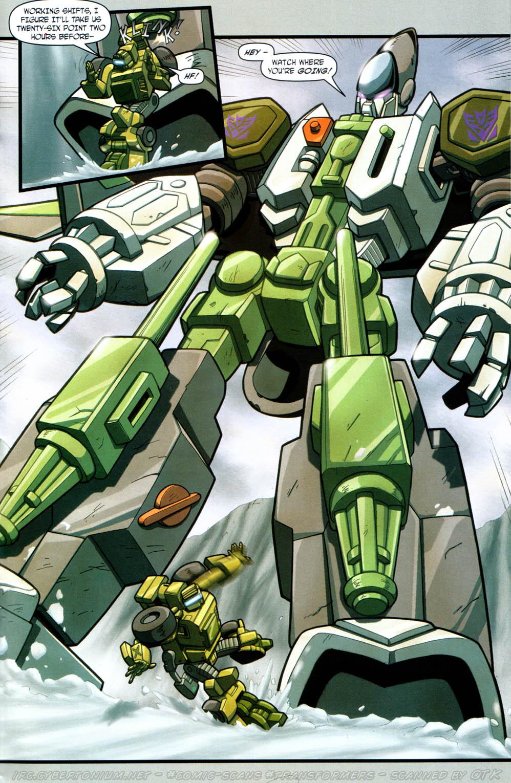 Read online Transformers Armada comic -  Issue #12 - 13