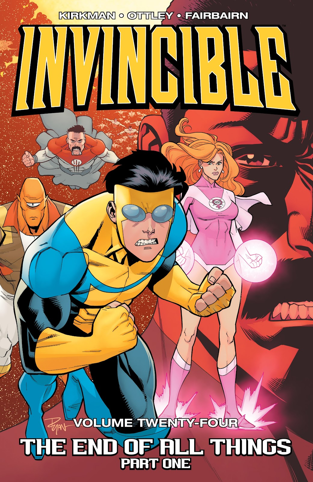 Invincible (2003) issue TPB 24 - The End Of All Things Part One - Page 1