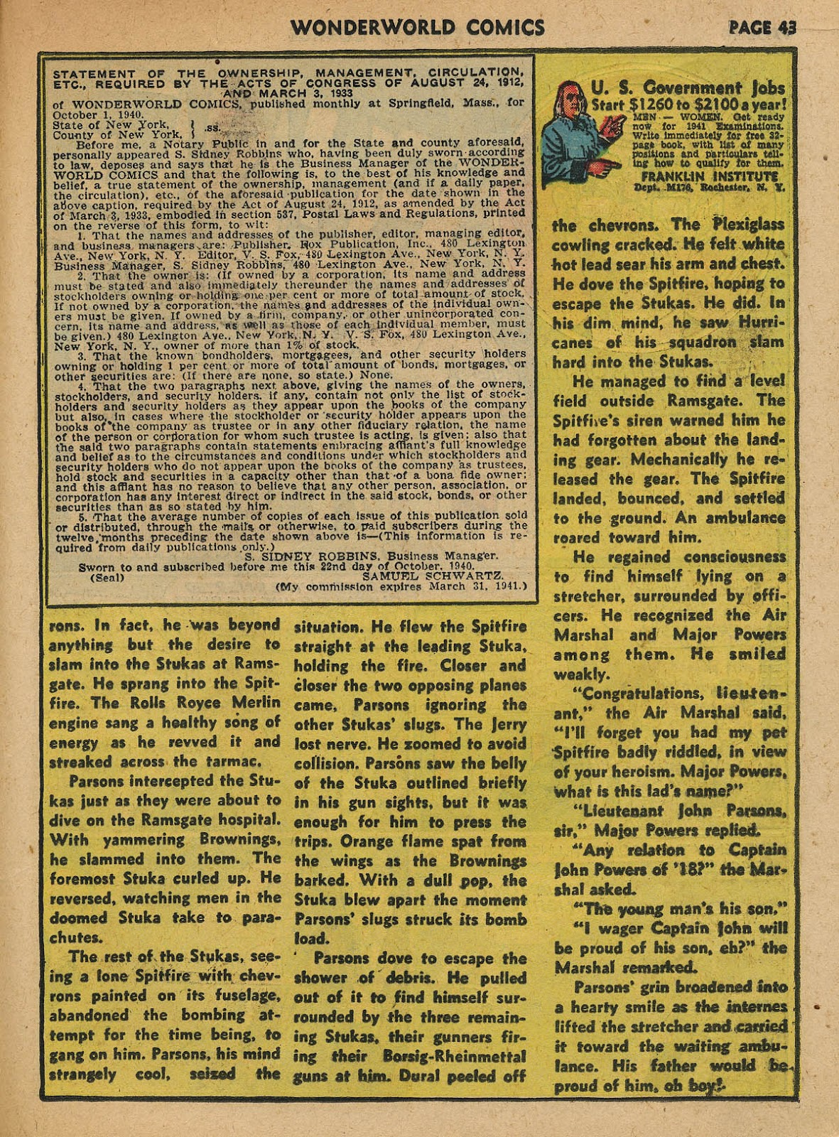 Wonderworld Comics issue 23 - Page 44