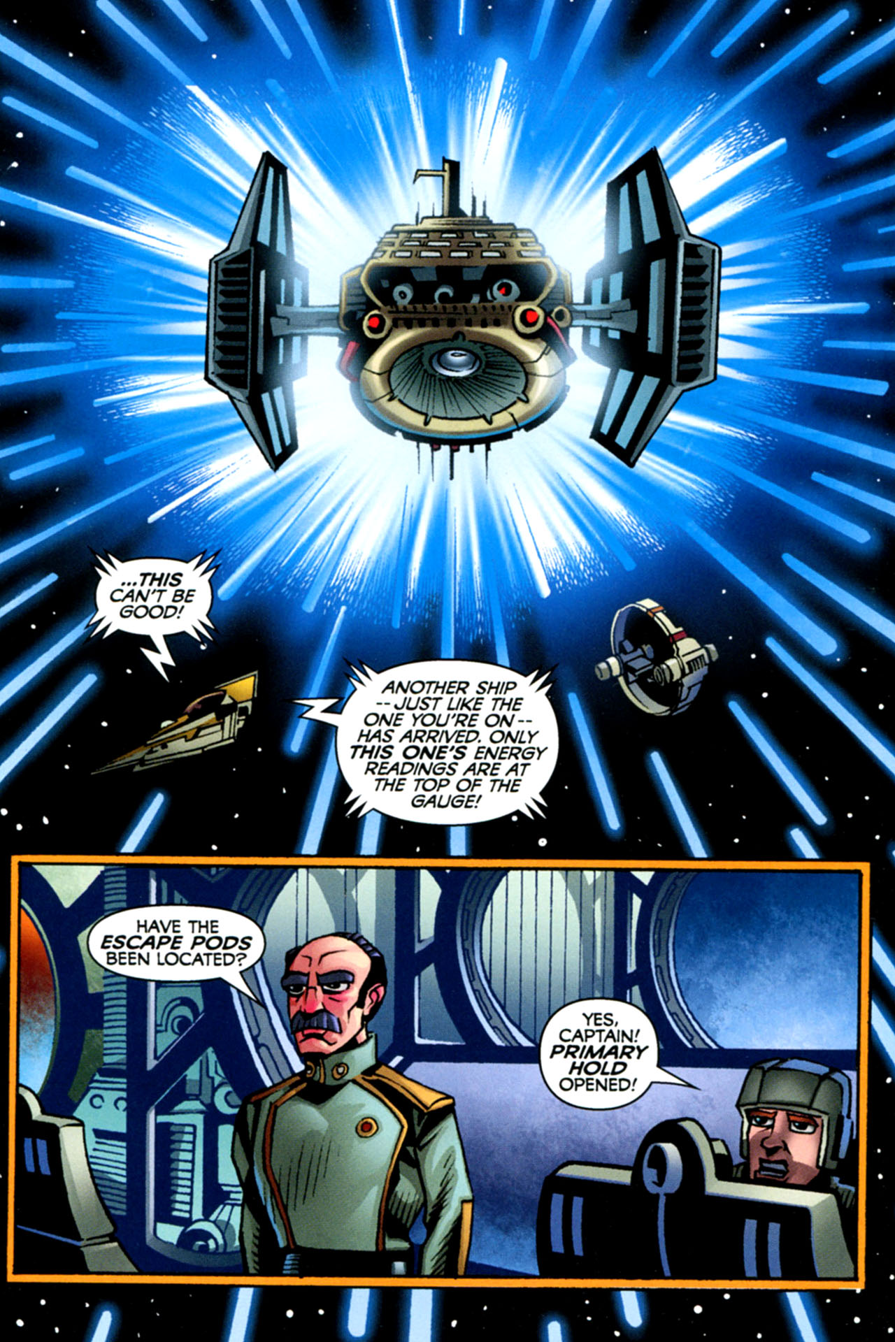 Read online Star Wars: The Clone Wars - The Starcrusher Trap comic -  Issue # Full - 57