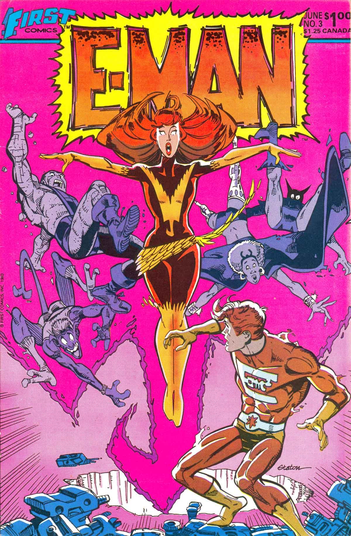 E-Man (1983) 3 Page 1