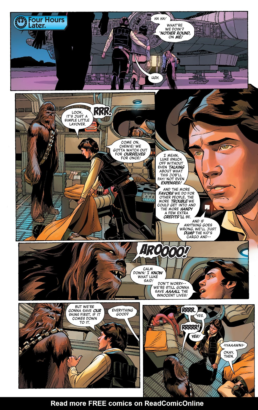 Read online Star Wars: Age of Rebellion - Heroes comic -  Issue # TPB - 37