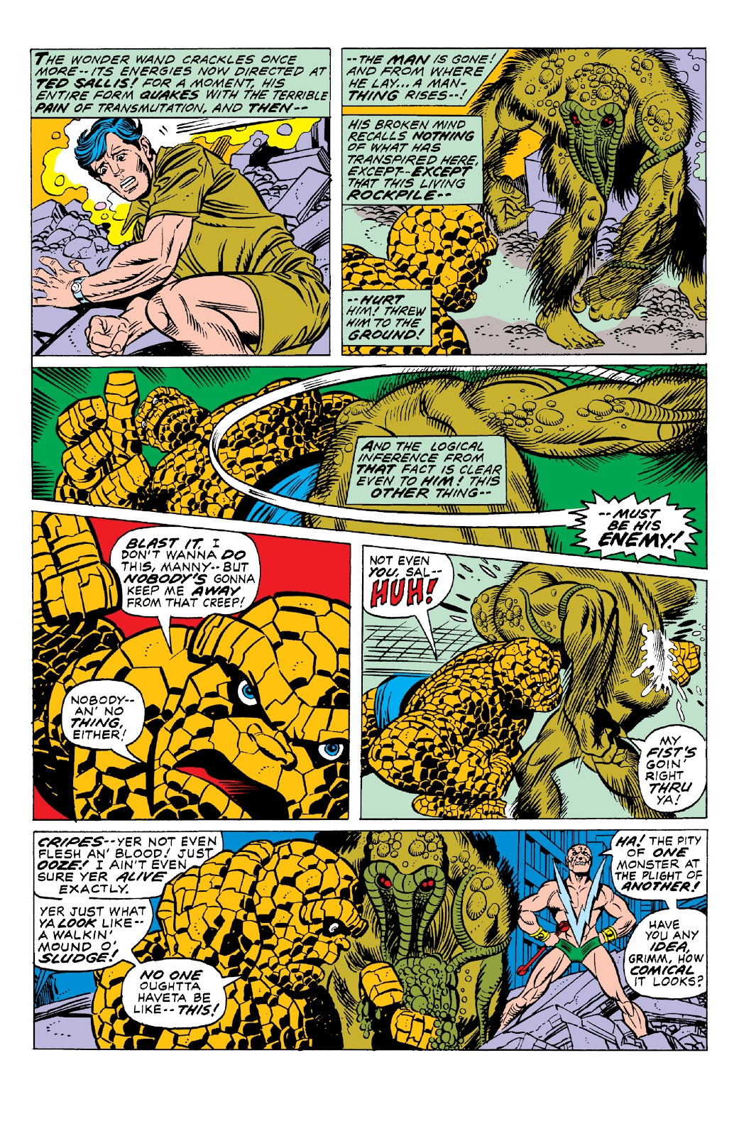 Read online Marvel Two-In-One Epic Collection: Cry Monster comic -  Issue # TPB (Part 1) - 62