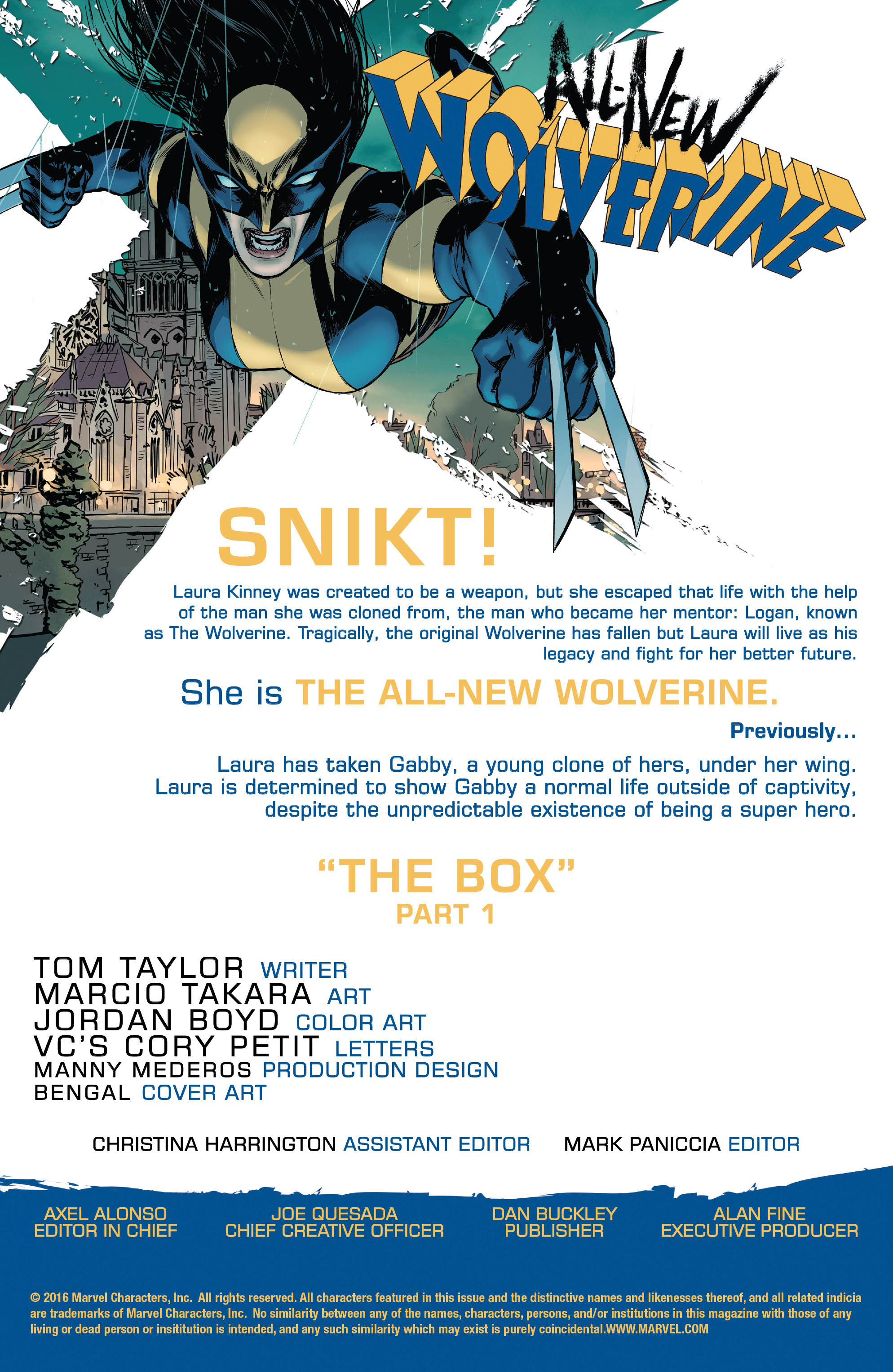 Read online All-New Wolverine (2016) comic -  Issue #8 - 2