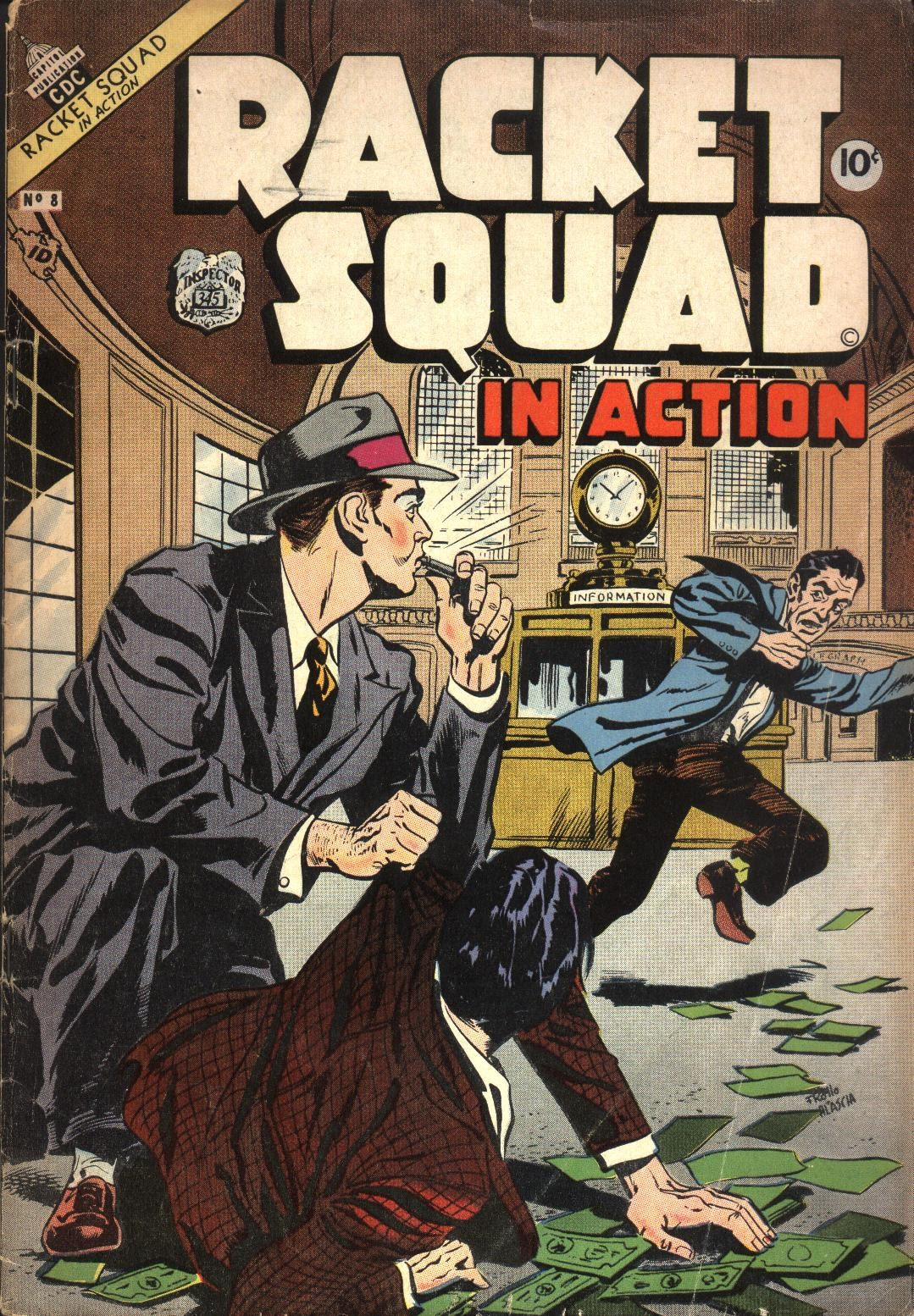Read online Racket Squad in Action comic -  Issue #8 - 1