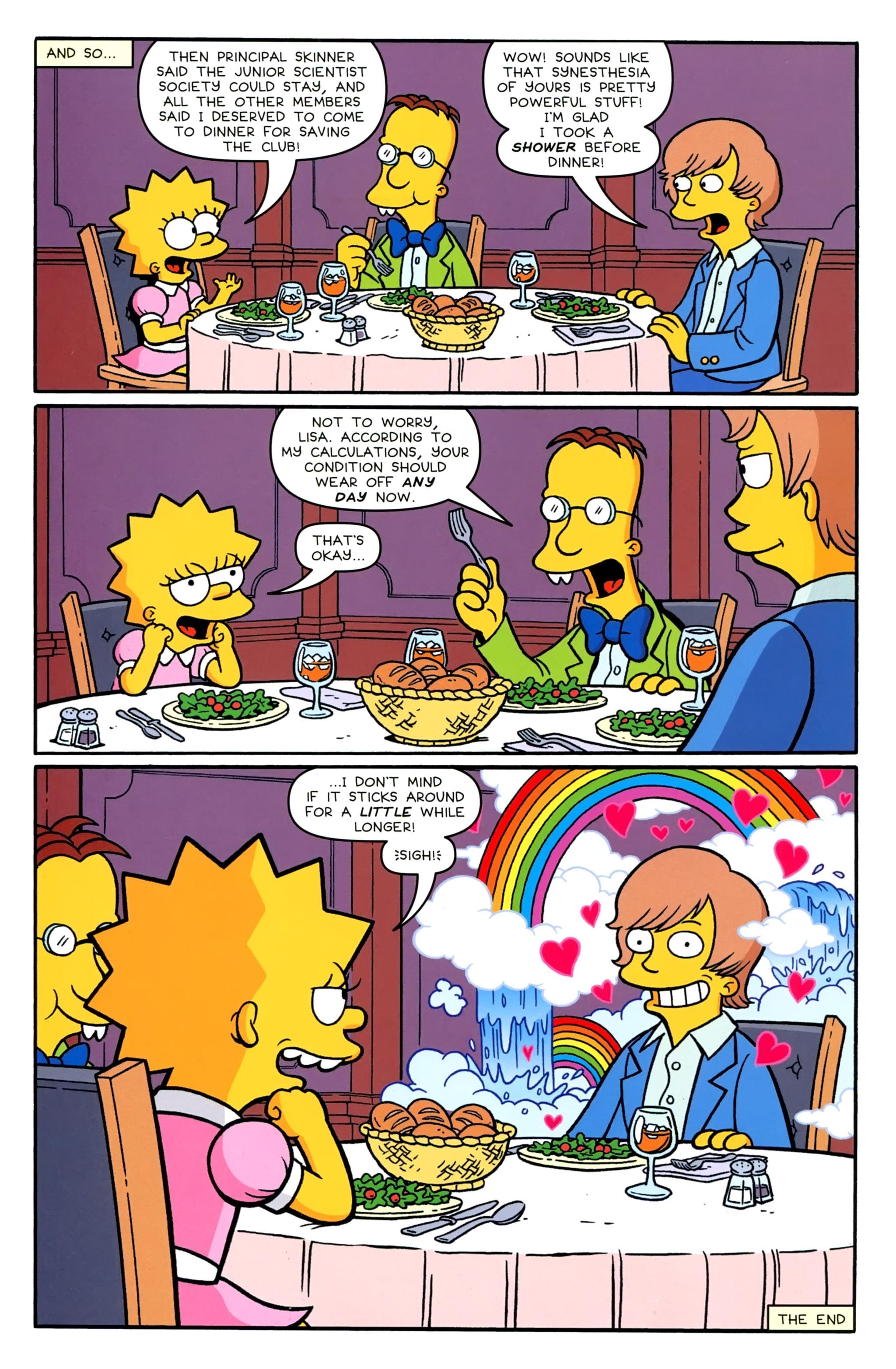 Read online Simpsons Comics comic -  Issue #231 - 26