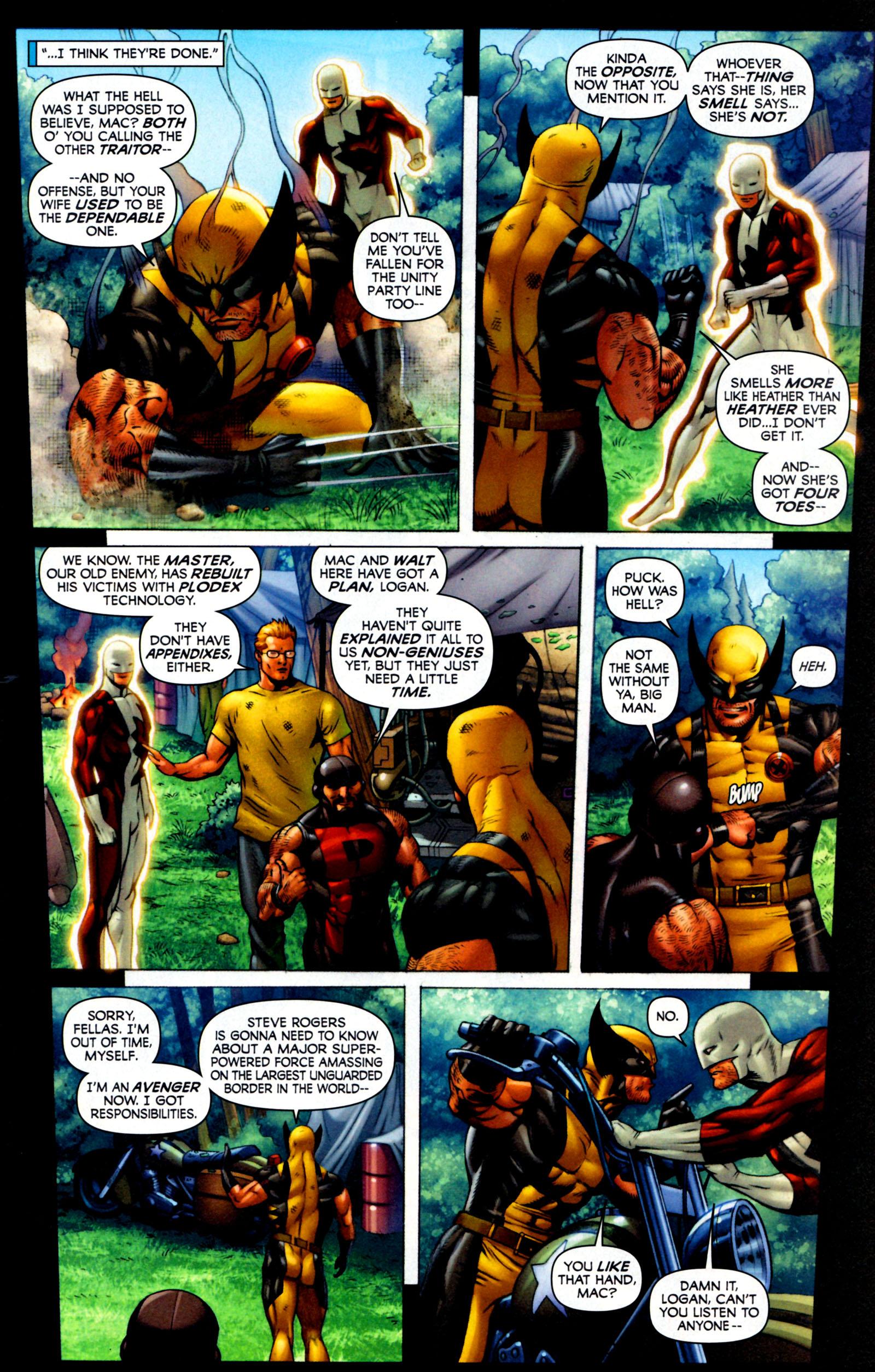 Read online Alpha Flight (2011) comic -  Issue #7 - 9