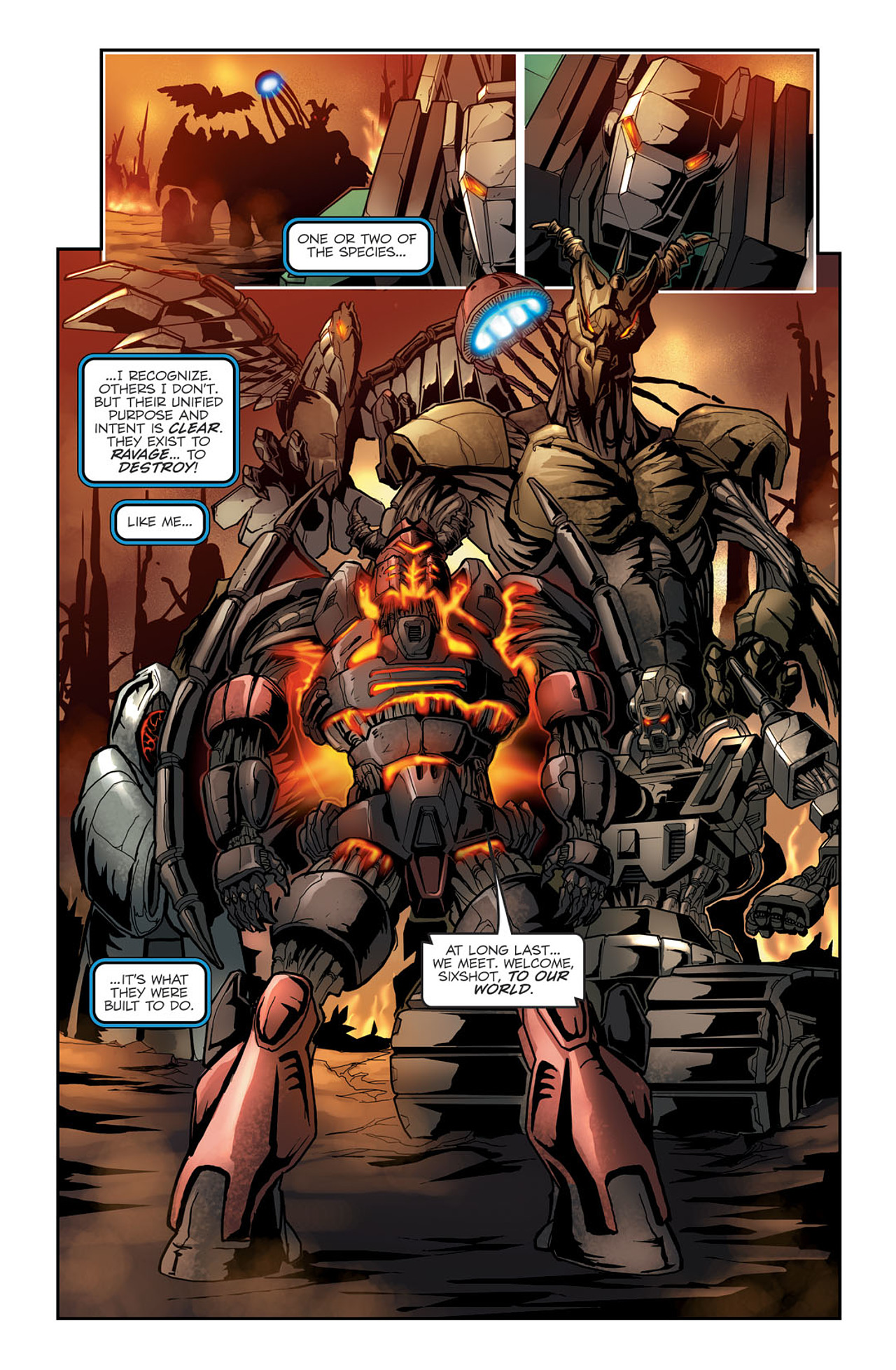 Read online Transformers Spotlight: Sixshot comic -  Issue # Full - 14