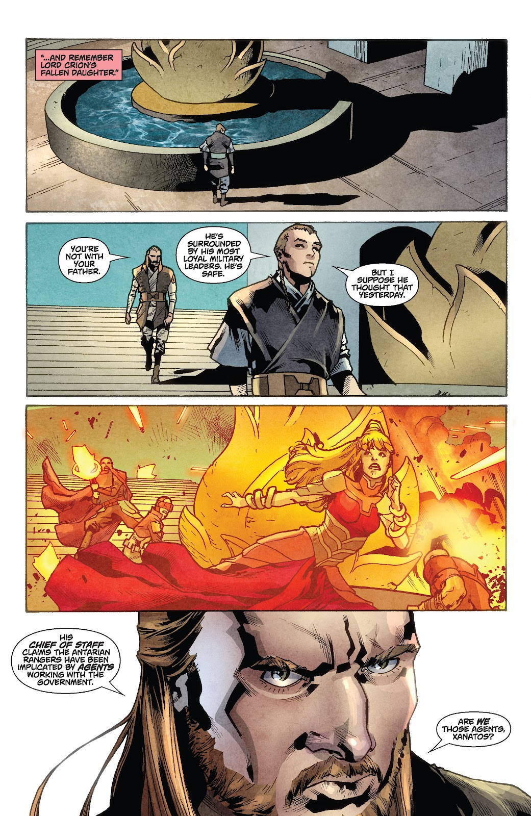Read online Star Wars Legends: Rise of the Sith - Epic Collection comic -  Issue # TPB 1 (Part 2) - 71