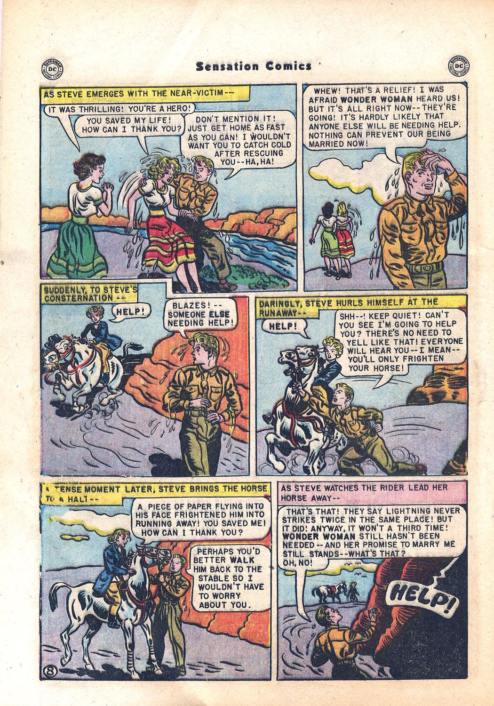 Read online Sensation (Mystery) Comics comic -  Issue #94 - 10