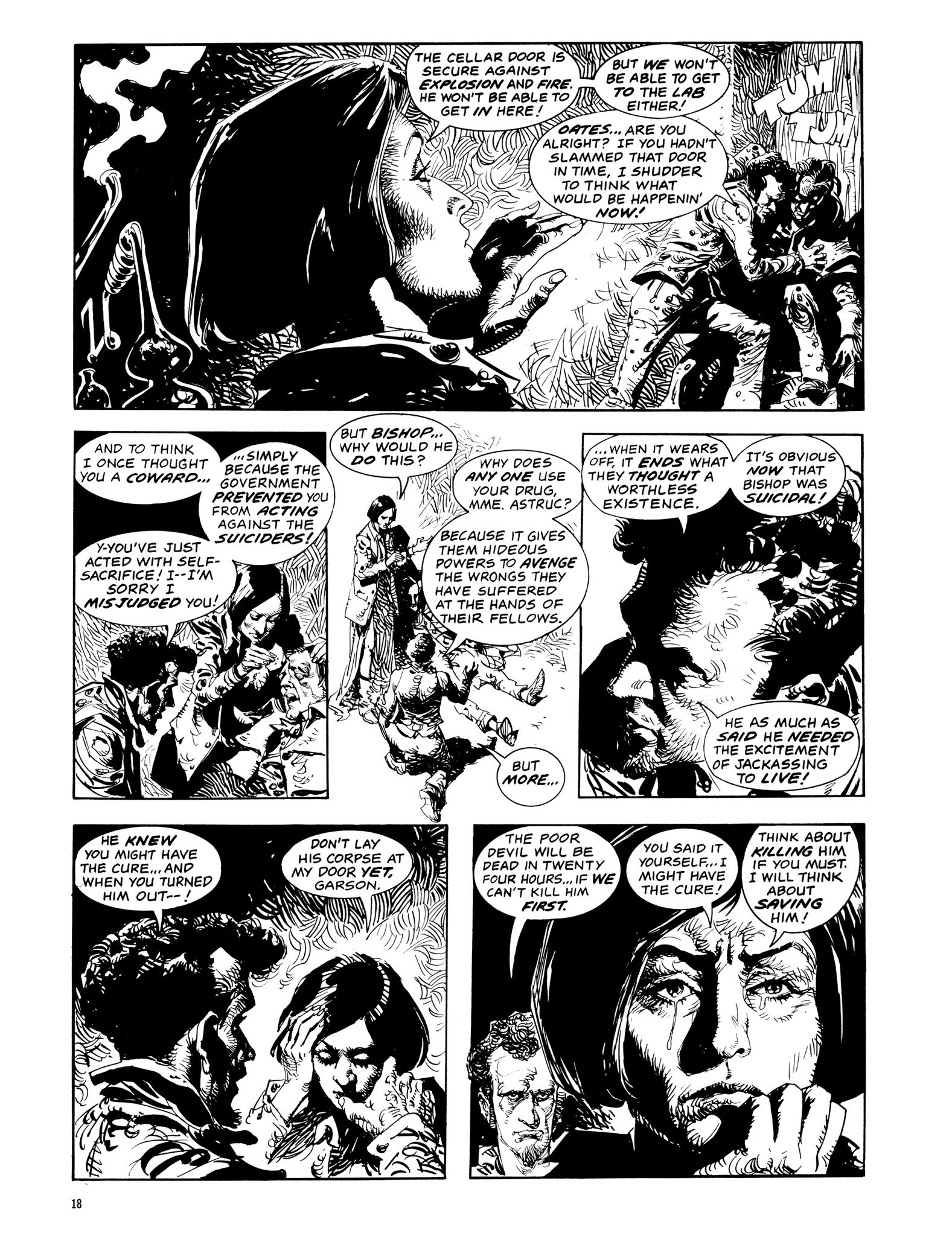 Read online Eerie Archives comic -  Issue # TPB 14 - 19