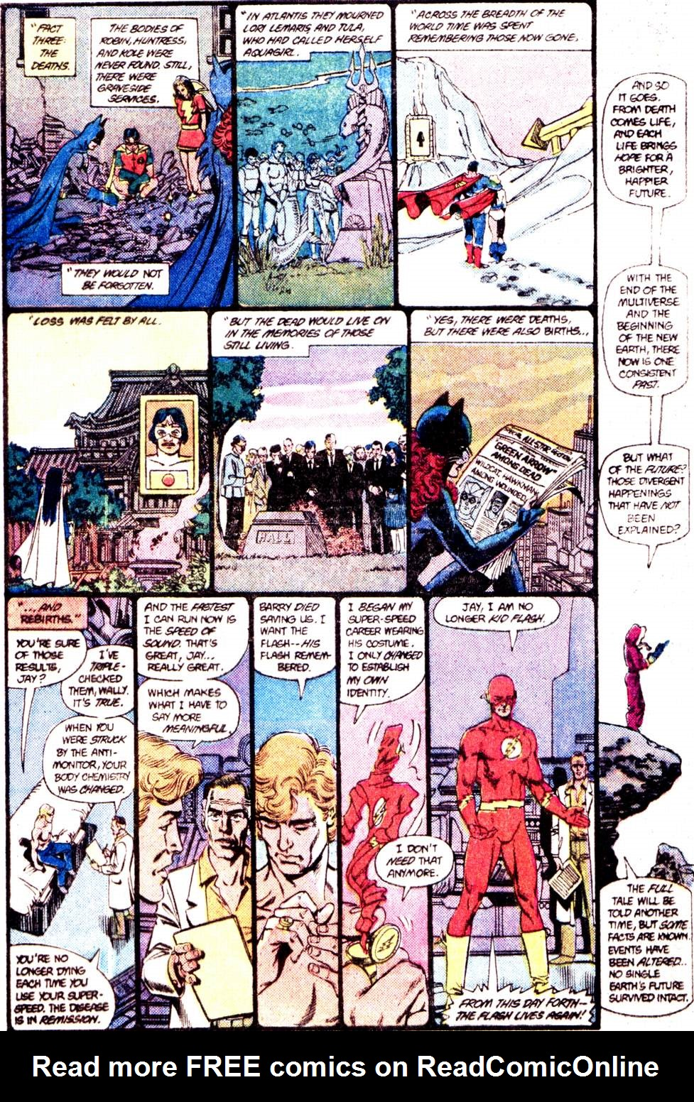 Crisis on Infinite Earths (1985) 12 Page 39