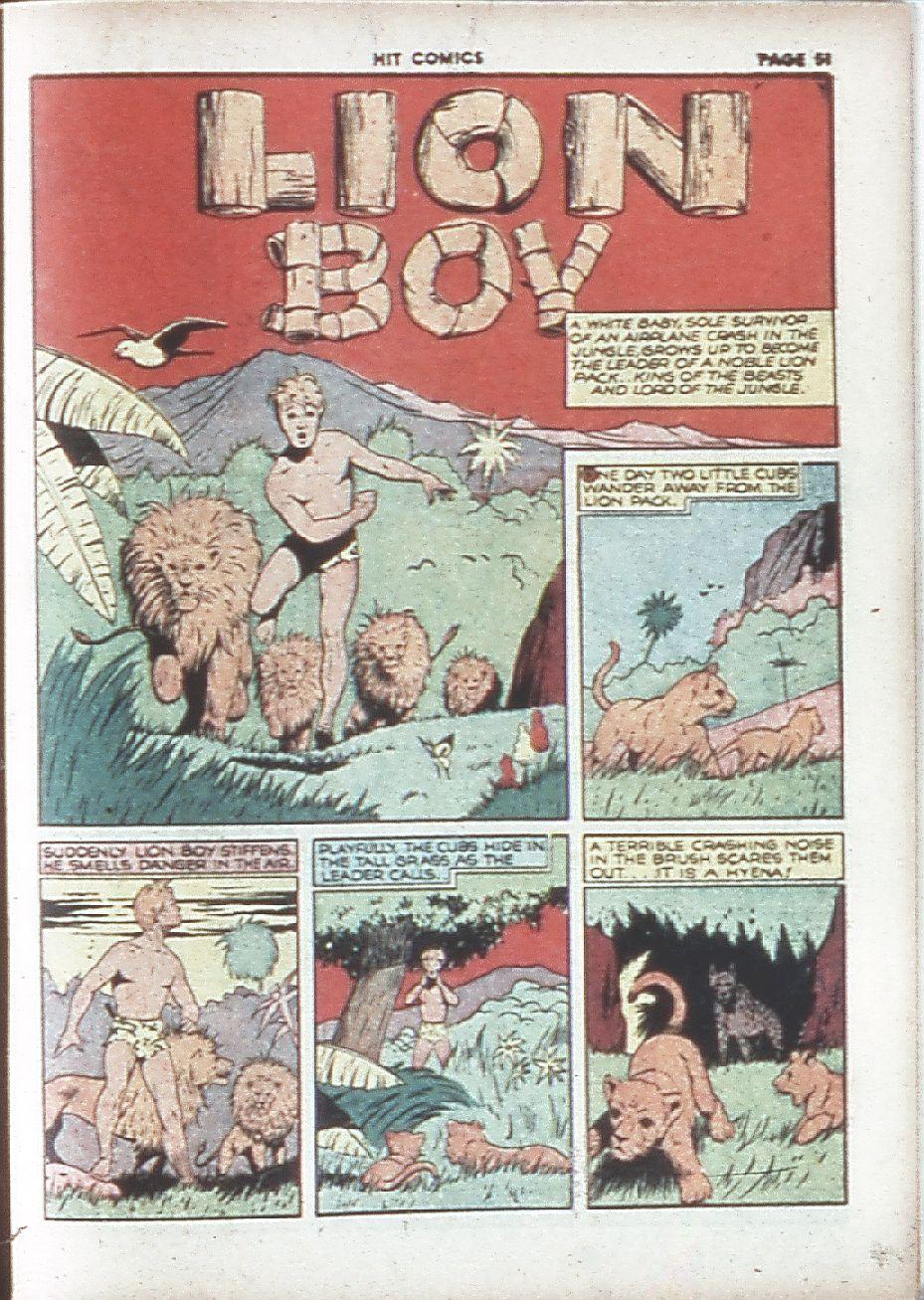 Read online Hit Comics comic -  Issue #7 - 53