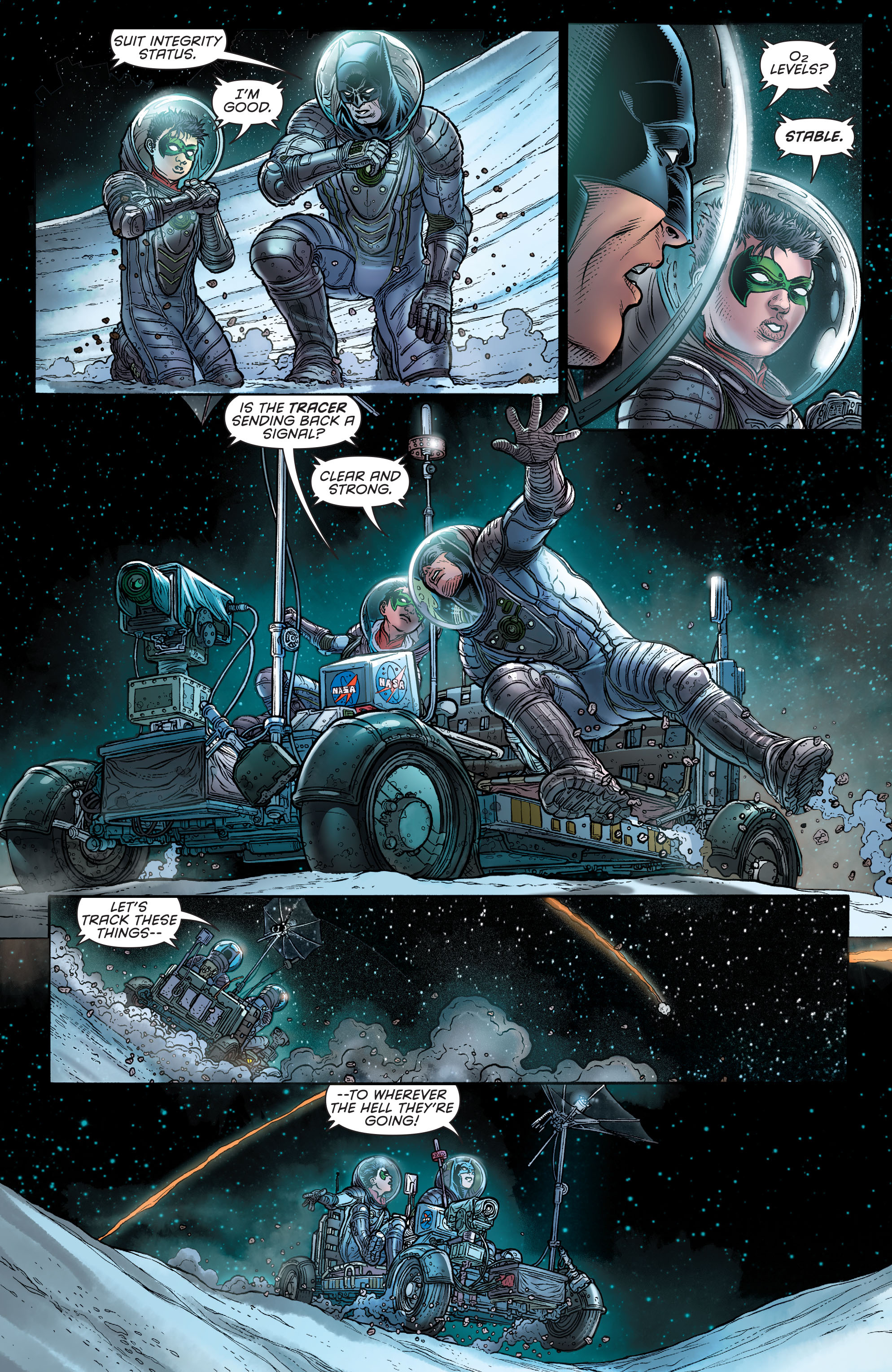Read online Batman and Robin (2011) comic -  Issue # Annual 3 - 15