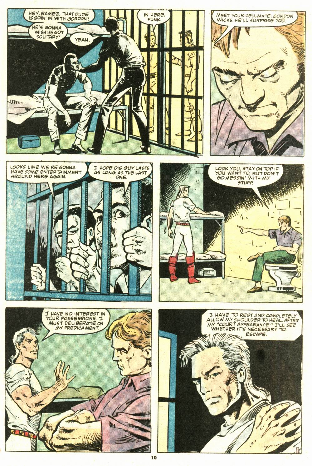 Read online Justice (1986) comic -  Issue #8 - 11