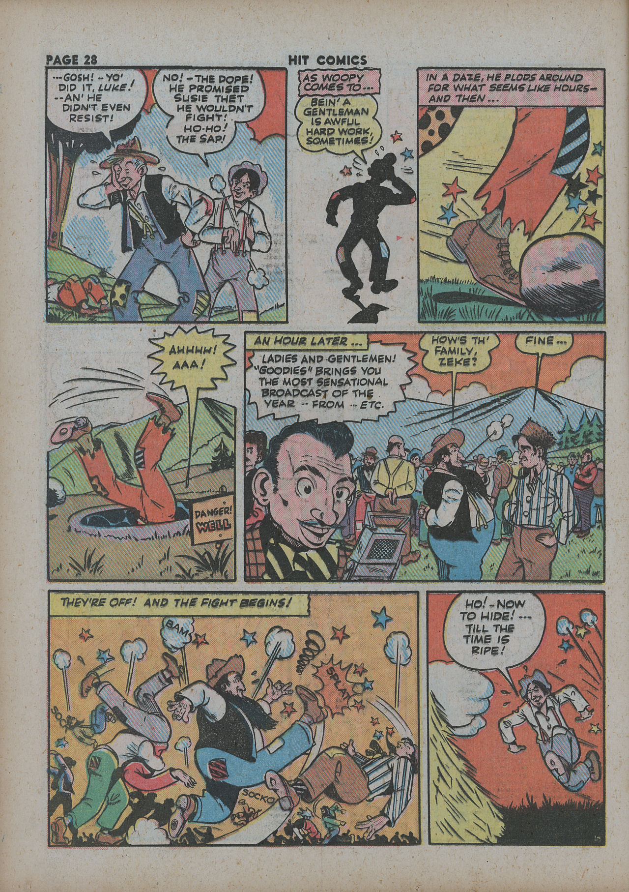 Read online Hit Comics comic -  Issue #27 - 30
