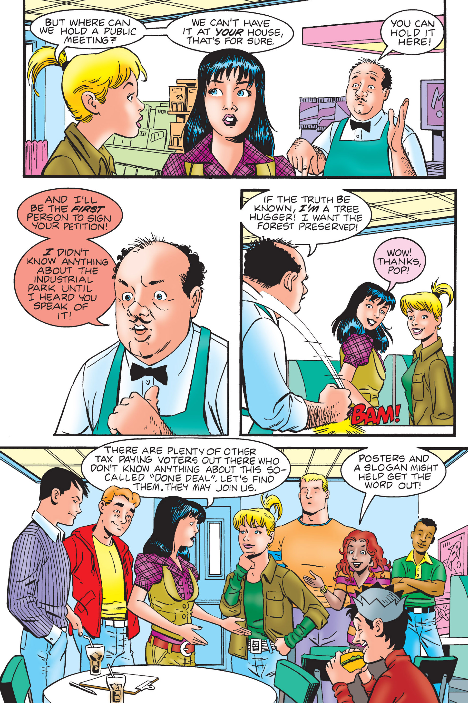 Read online Archie's New Look Series comic -  Issue #4 - 36