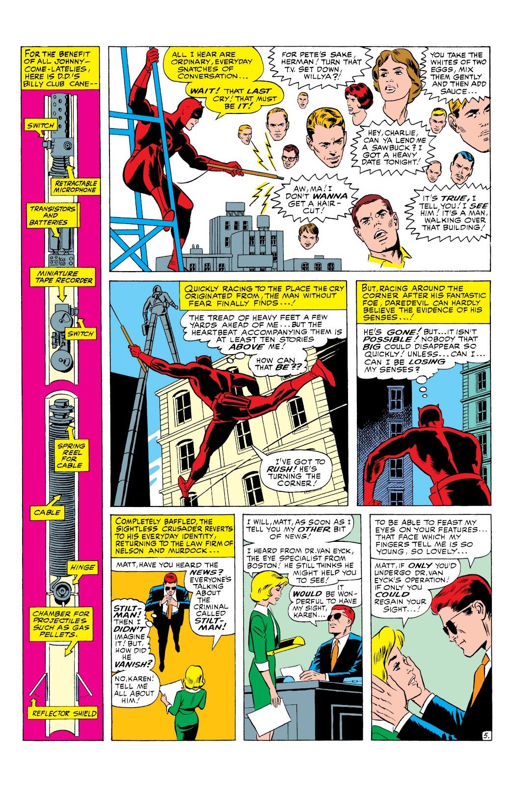 Read online Marvel Masterworks: Daredevil comic - Issue # TPB 1 (Part 2) - 69