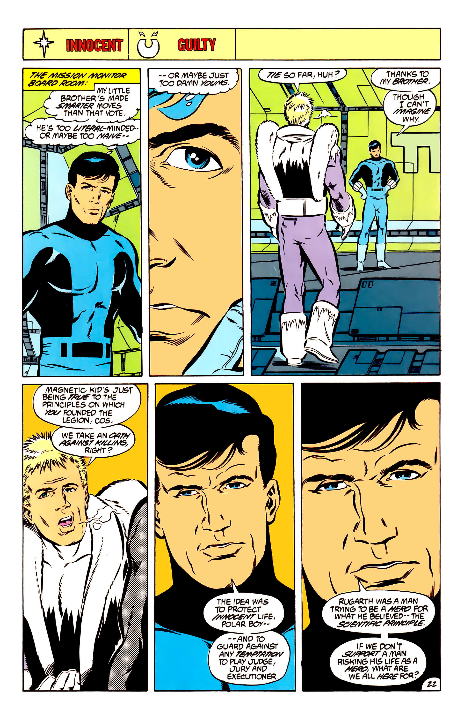 Legion of Super-Heroes (1984) 51 Page 22