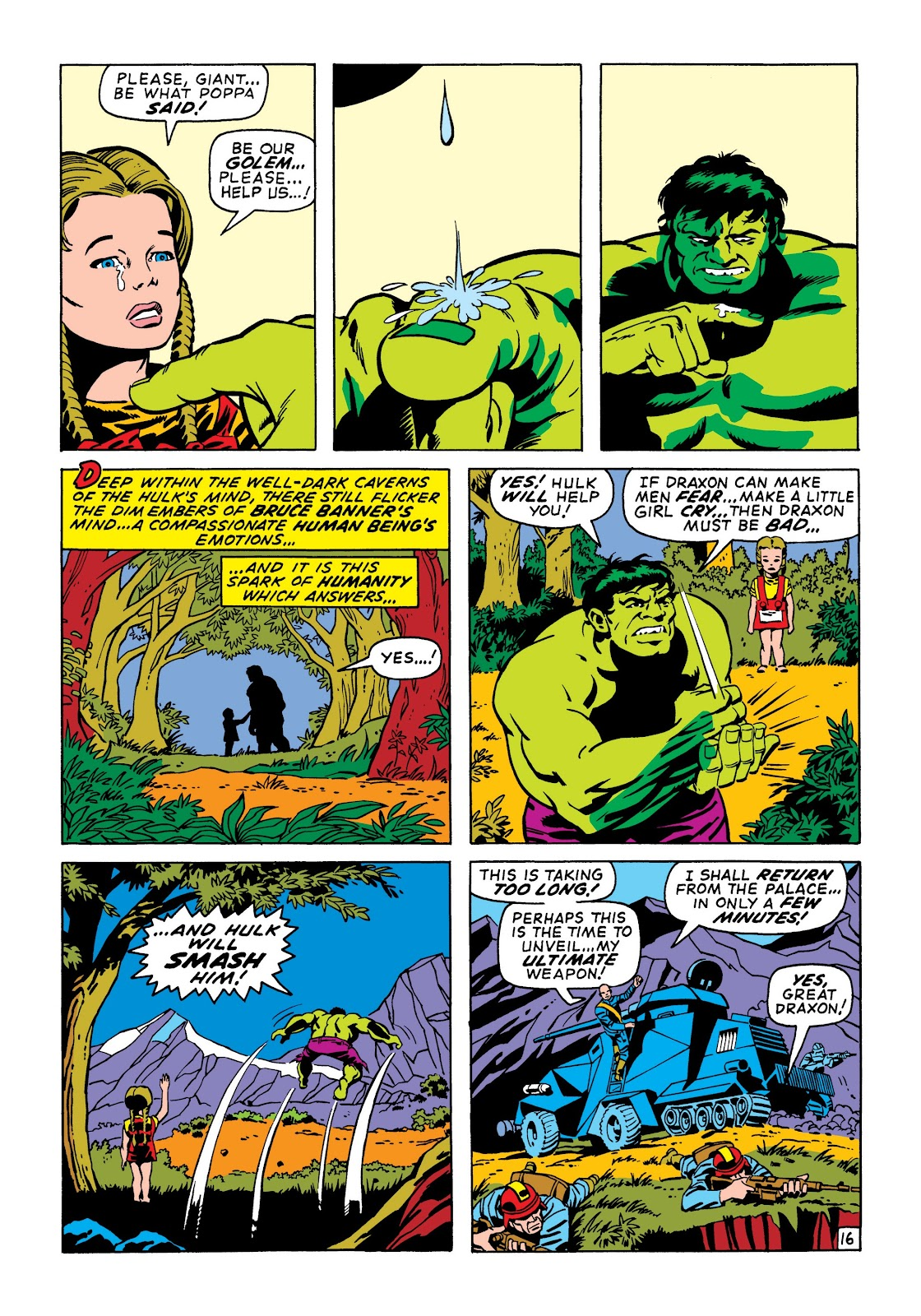 Read online Marvel Masterworks: The Incredible Hulk comic -  Issue # TPB 6 (Part 3) - 69