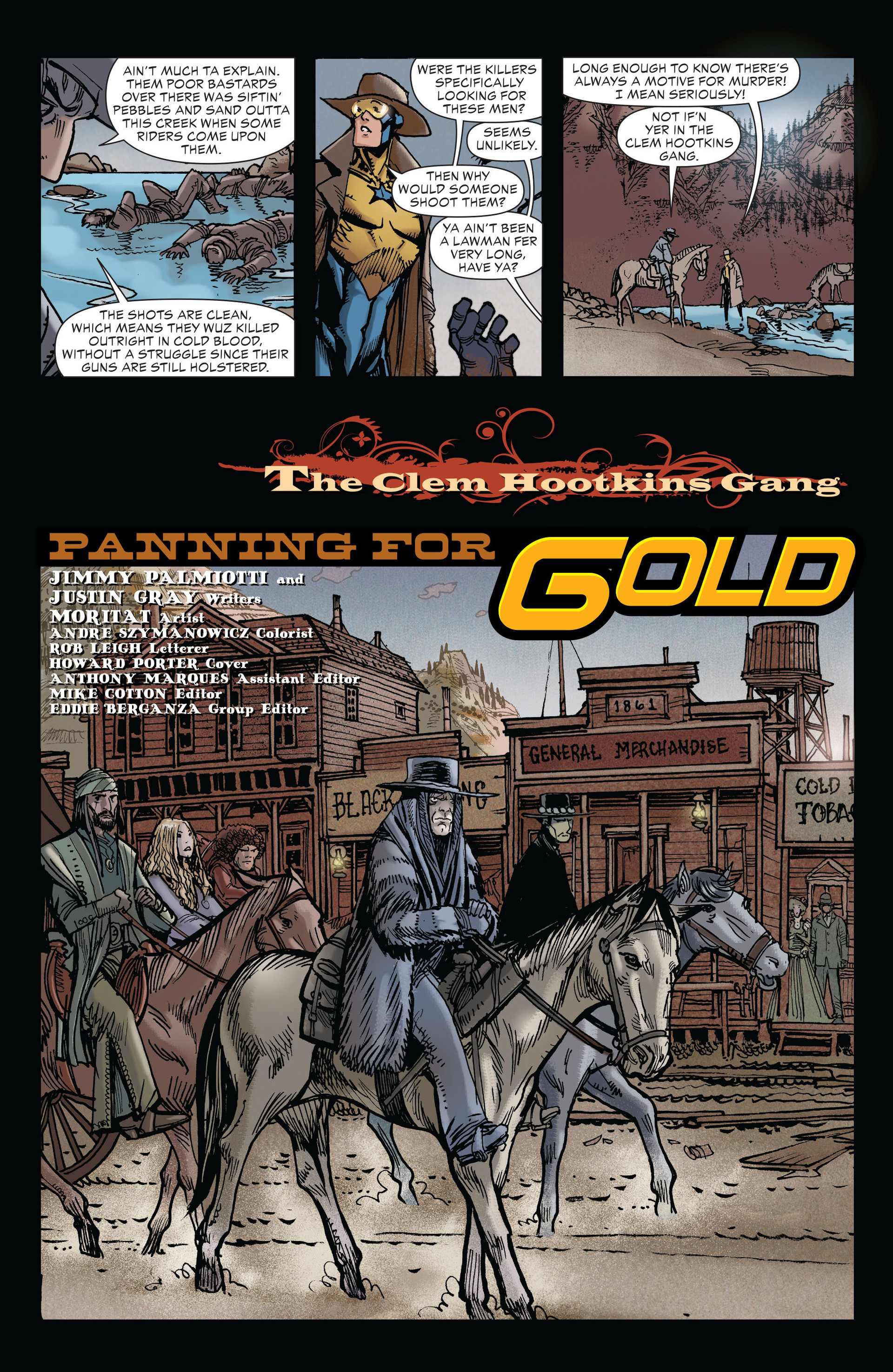 Read online All-Star Western (2011) comic -  Issue #19 - 6