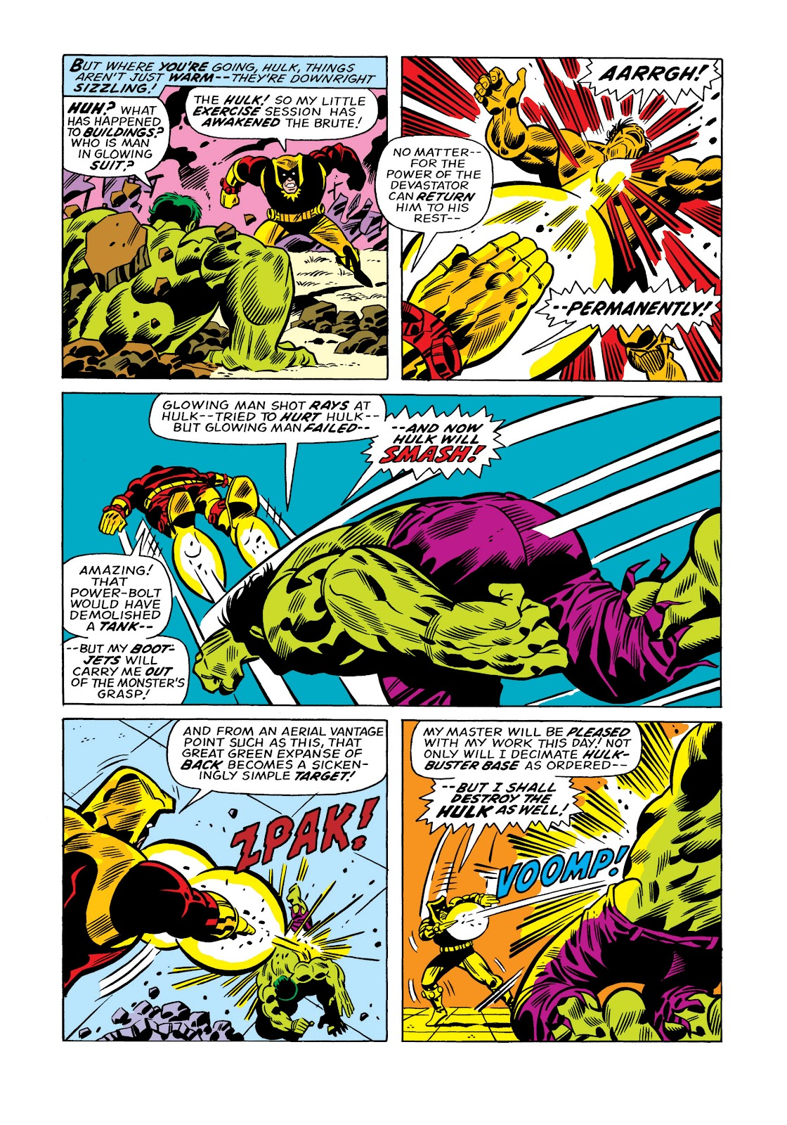 Read online Marvel Masterworks: The Incredible Hulk comic -  Issue # TPB 11 (Part 1) - 58