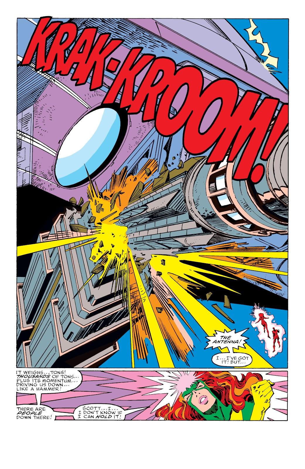 Read online X-Men Milestones: Fall of the Mutants comic -  Issue # TPB (Part 3) - 26