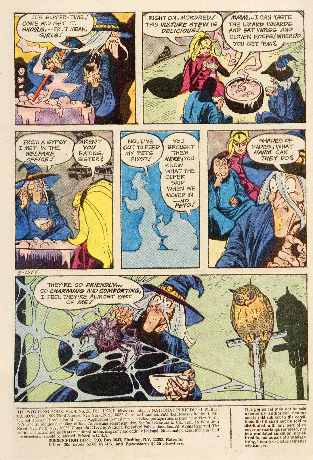 The Witching Hour (1969) issue 26 - Page 2