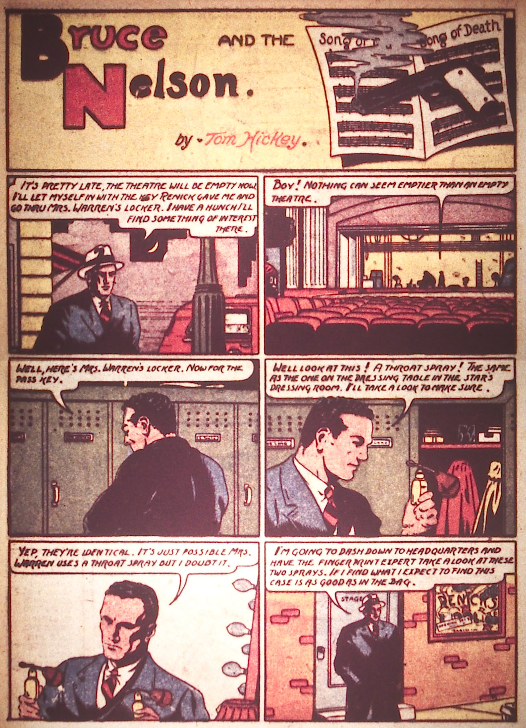 Read online Detective Comics (1937) comic -  Issue #22 - 28