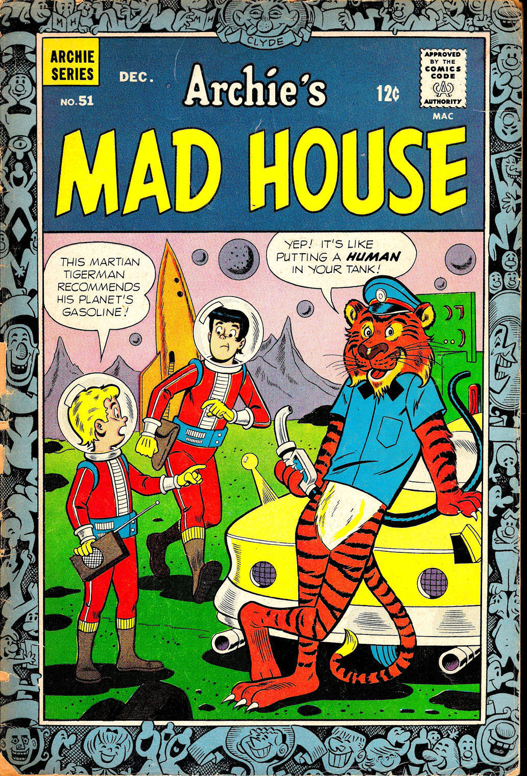 Archie's Madhouse issue 51 - Page 1