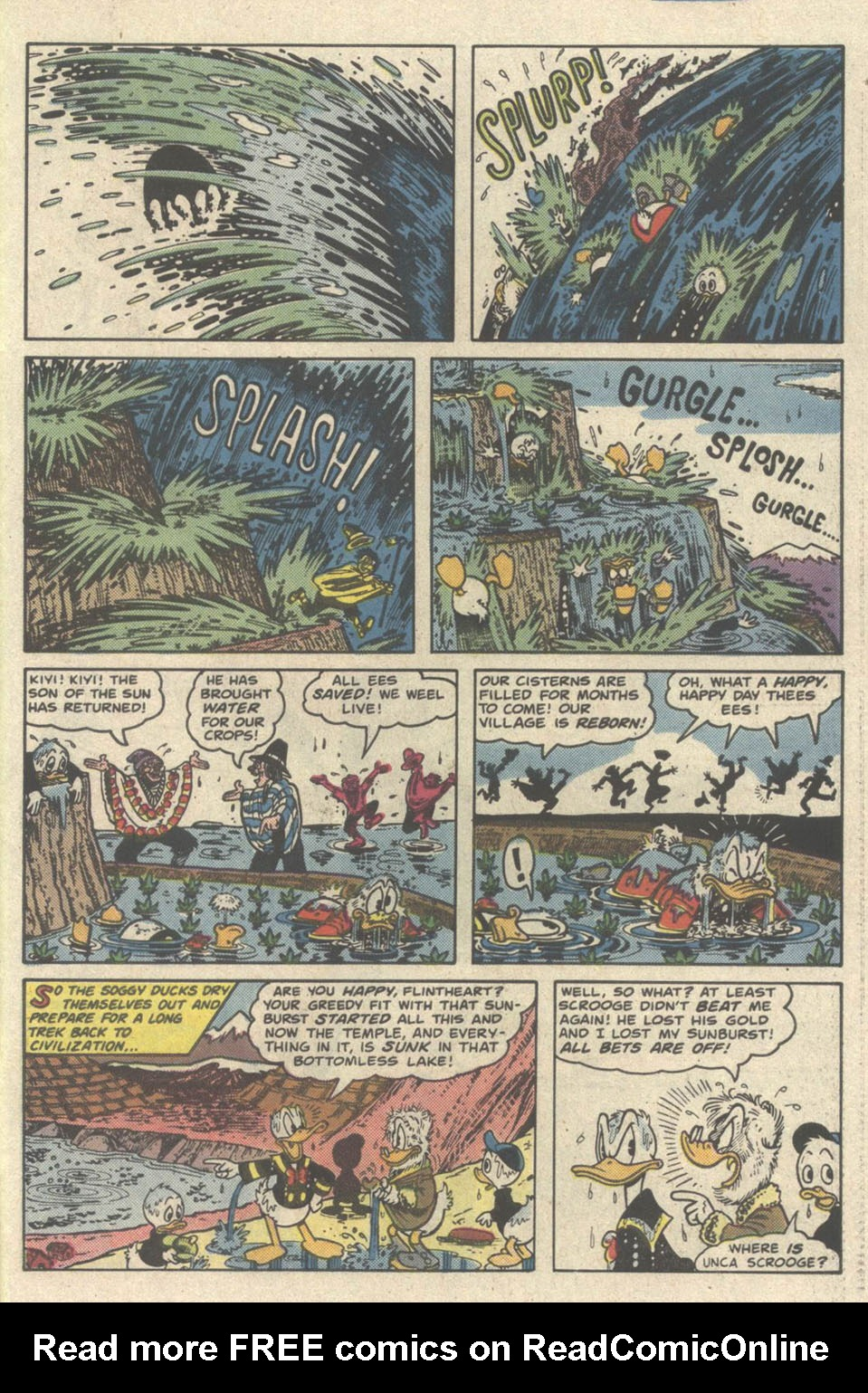 Read online Uncle Scrooge (1953) comic -  Issue #219 - 31