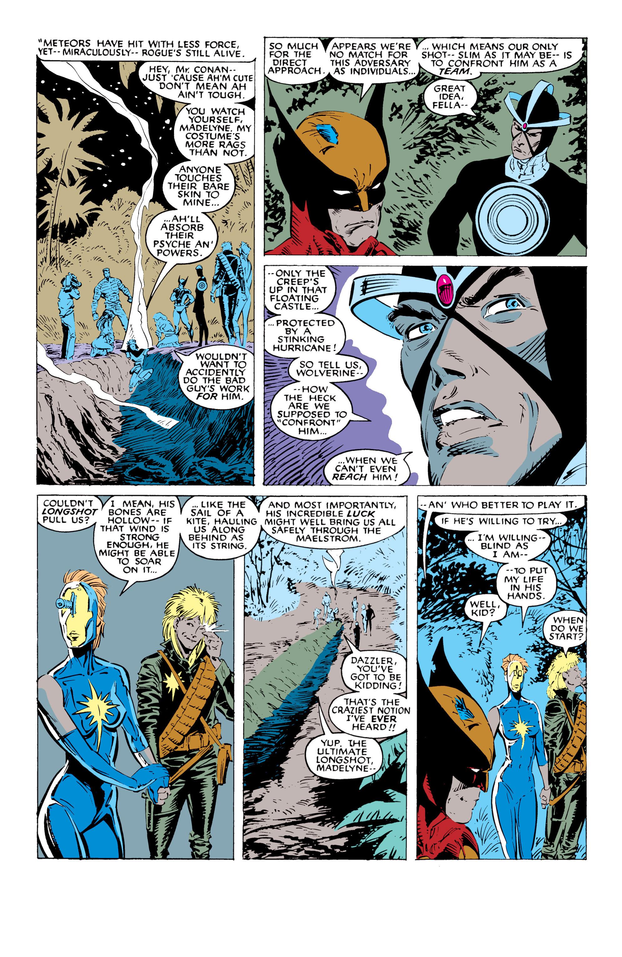 Read online Uncanny X-Men (1963) comic -  Issue #227 - 11