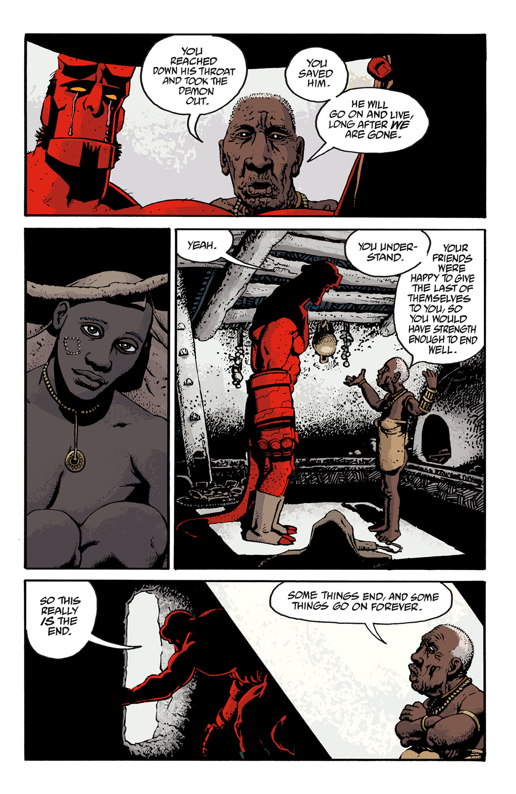 Read online Hellboy: The Troll Witch and Others comic -  Issue # TPB - 121