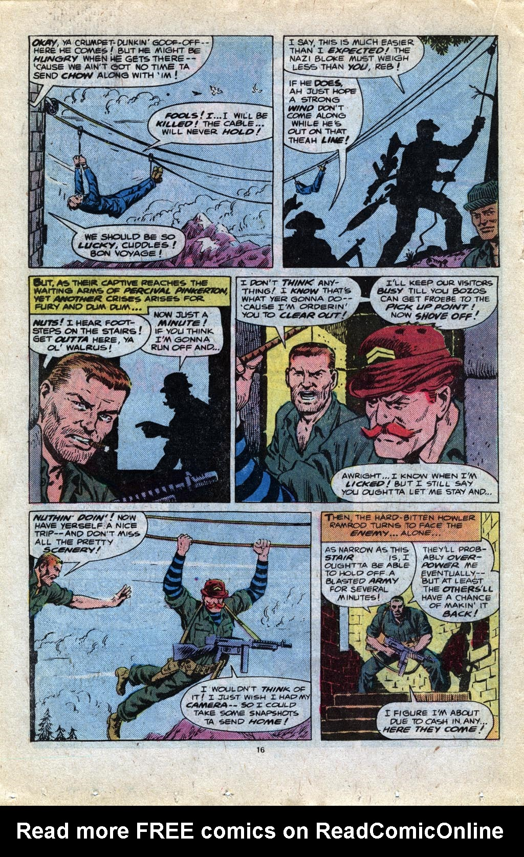 Read online Sgt. Fury comic -  Issue #148 - 18