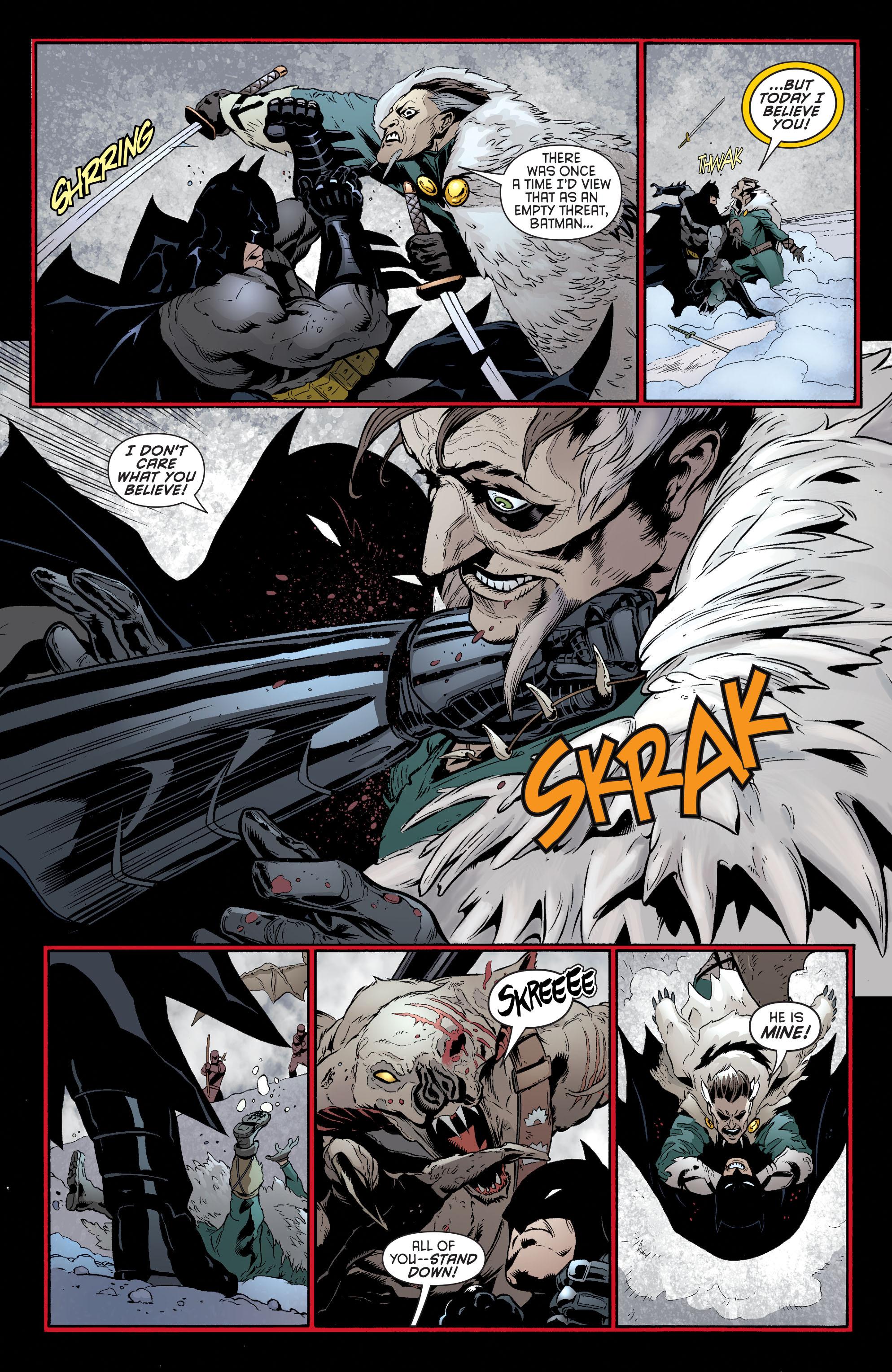 Read online Batman and Robin (2011) comic -  Issue #32 - Batman and Ra's al Ghul - 16