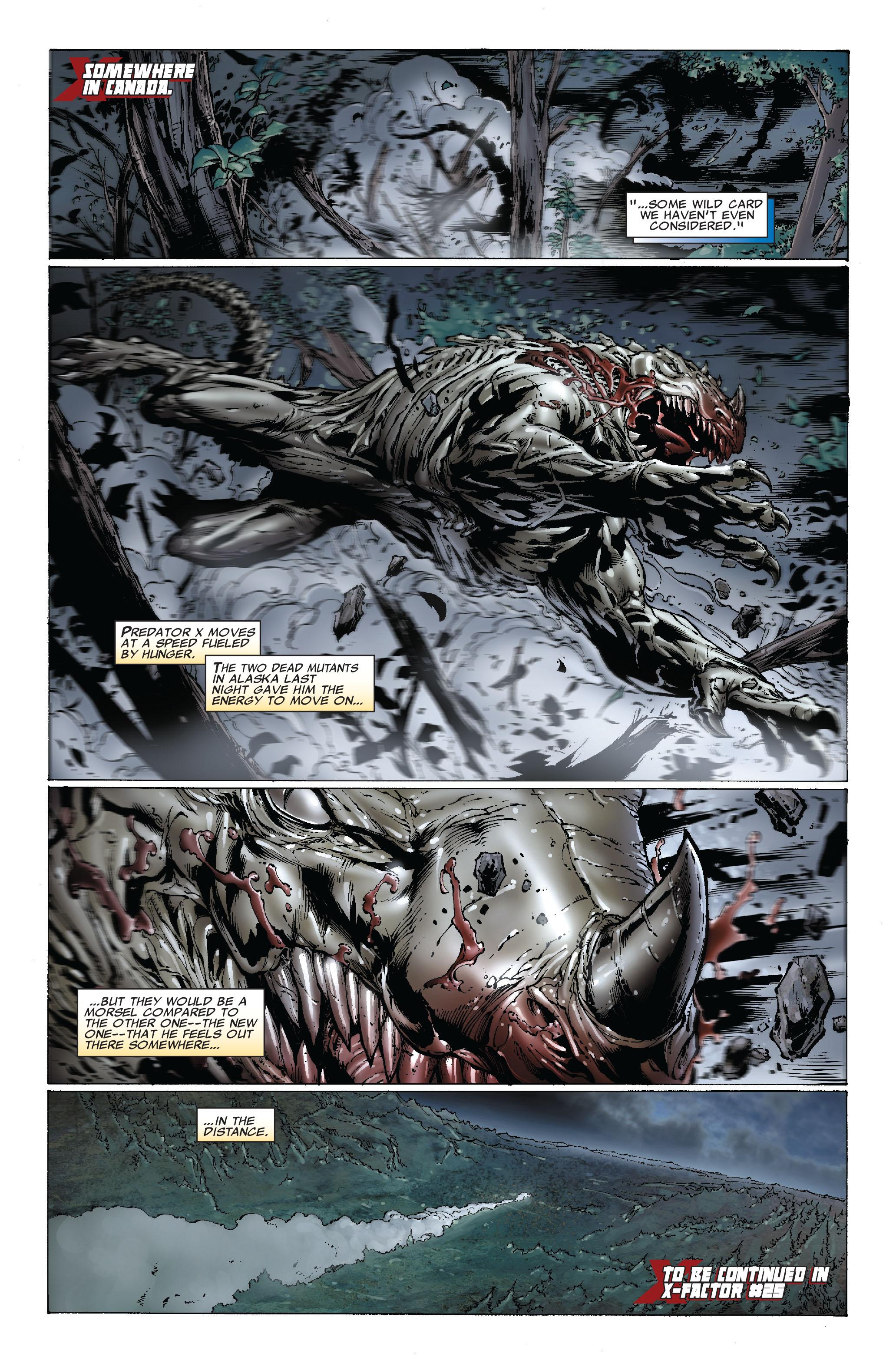 Read online Uncanny X-Men (1963) comic -  Issue #492 - 23