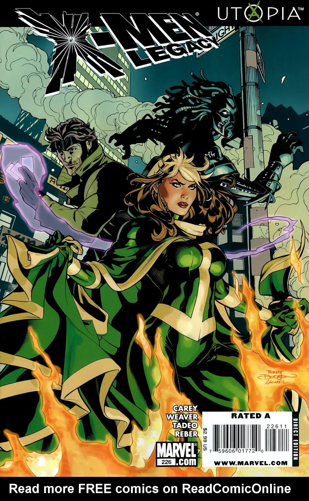 X-Men Legacy (2008) 226 Page 1