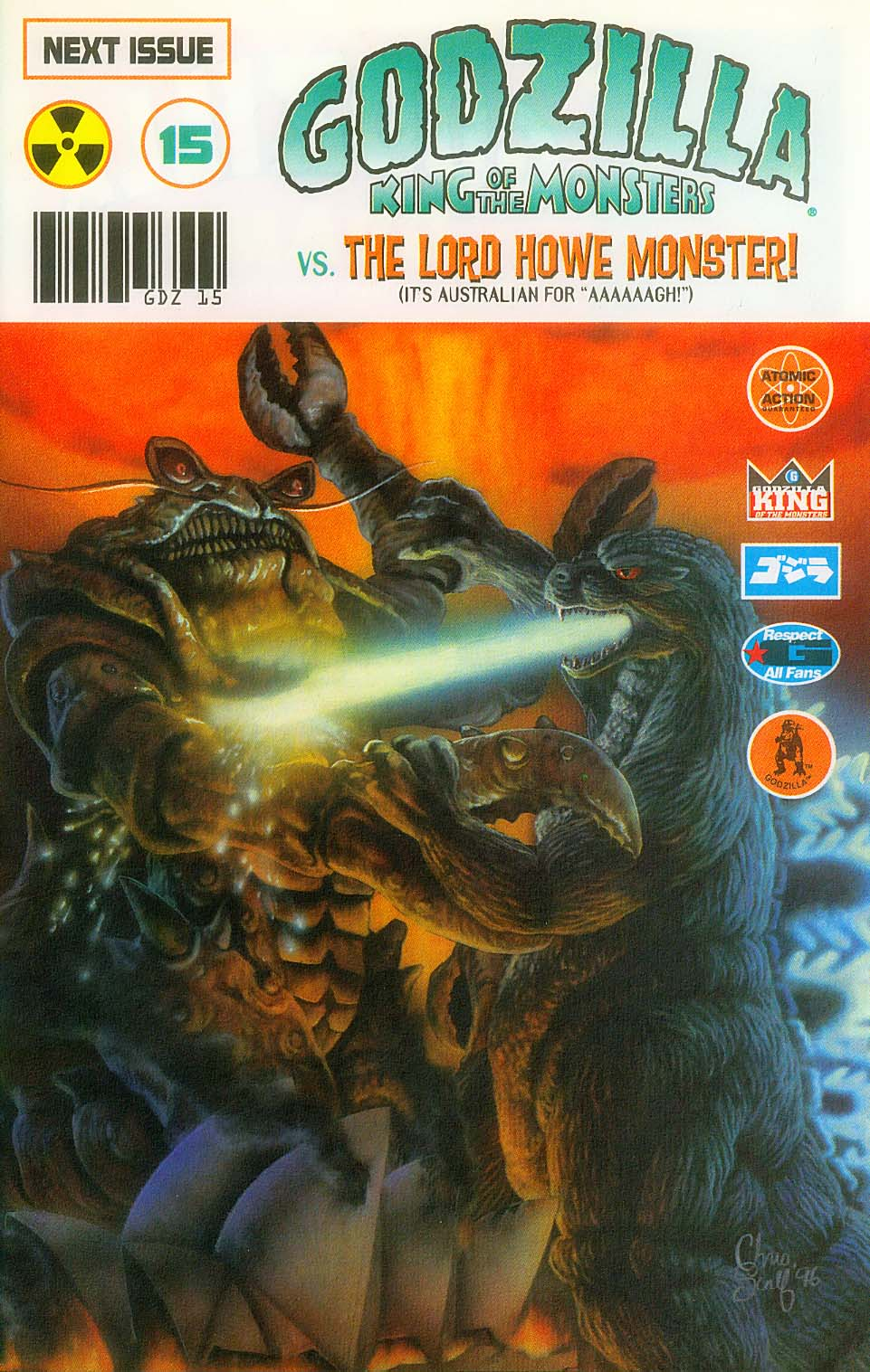 Godzilla (1995) Issue #14 #15 - English 30