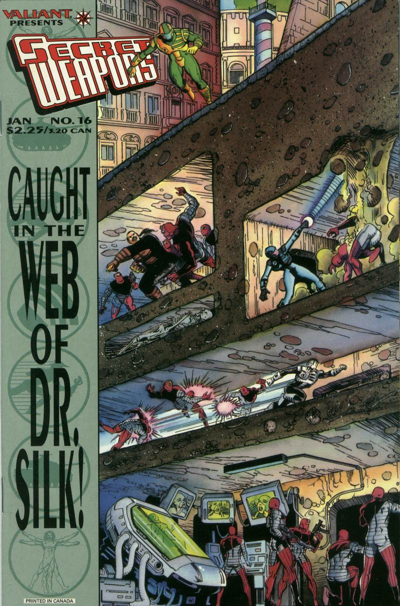 Read online Secret Weapons comic -  Issue #16 - 1