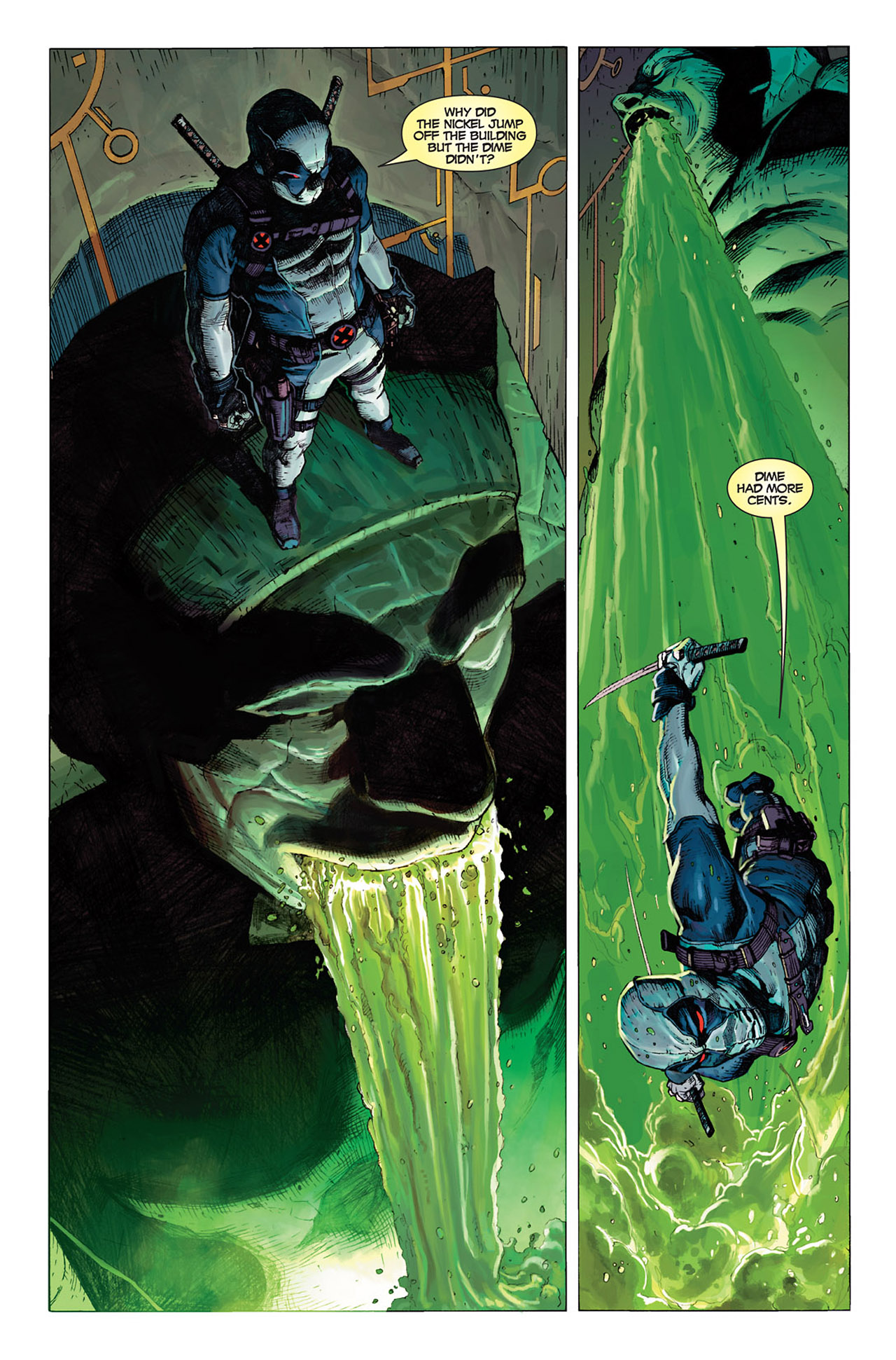 Read online Uncanny X-Force (2010) comic -  Issue #1 - 2