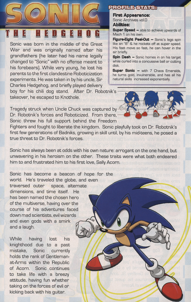 Read online Sonic the Hedgehog Free Comic Book Day Edition comic -  Issue # Special 5 - 25
