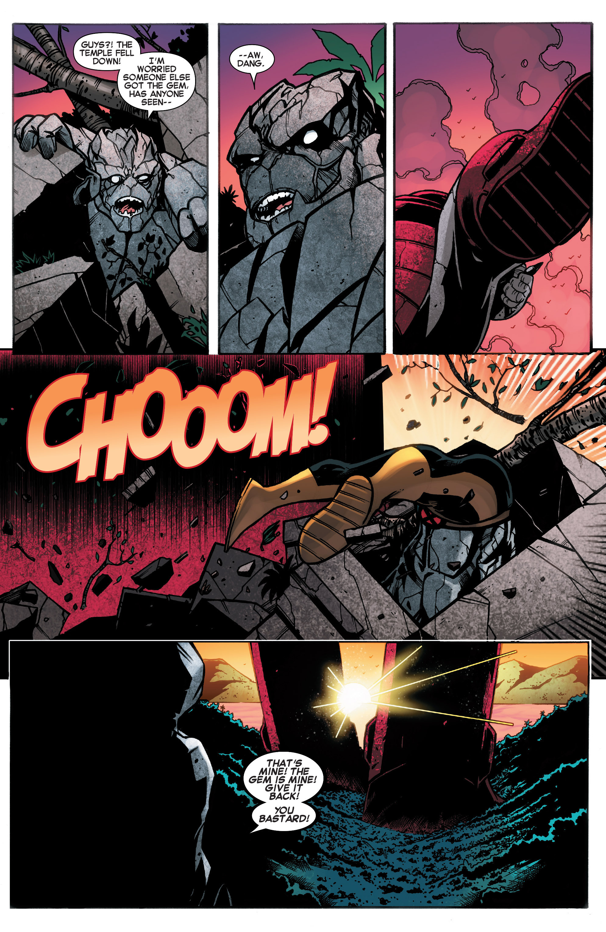 Read online Amazing X-Men (2014) comic -  Issue #18 - 5
