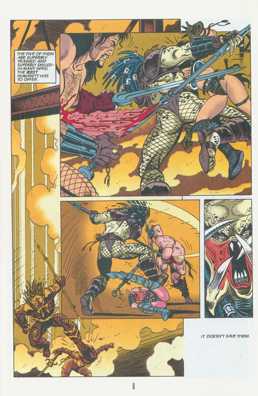Read online Aliens/Predator: The Deadliest of the Species comic -  Issue #10 - 9