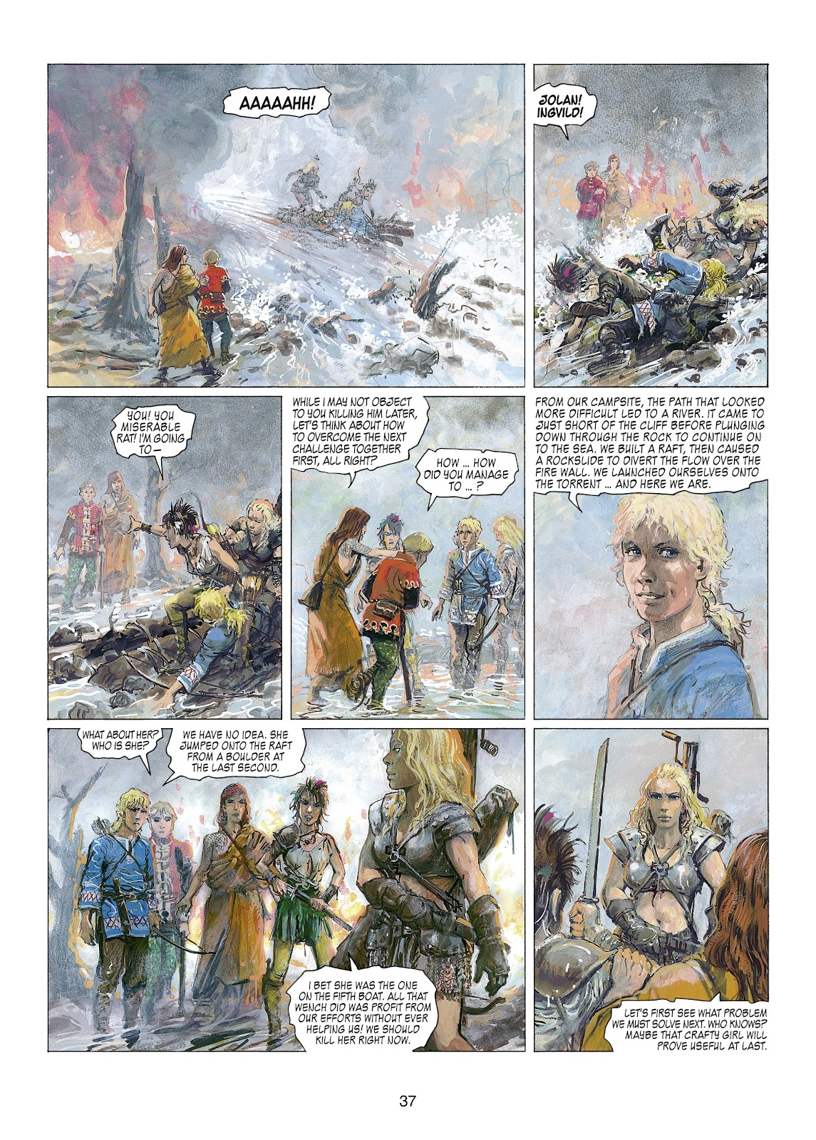 Read online Thorgal comic -  Issue #22 - 39